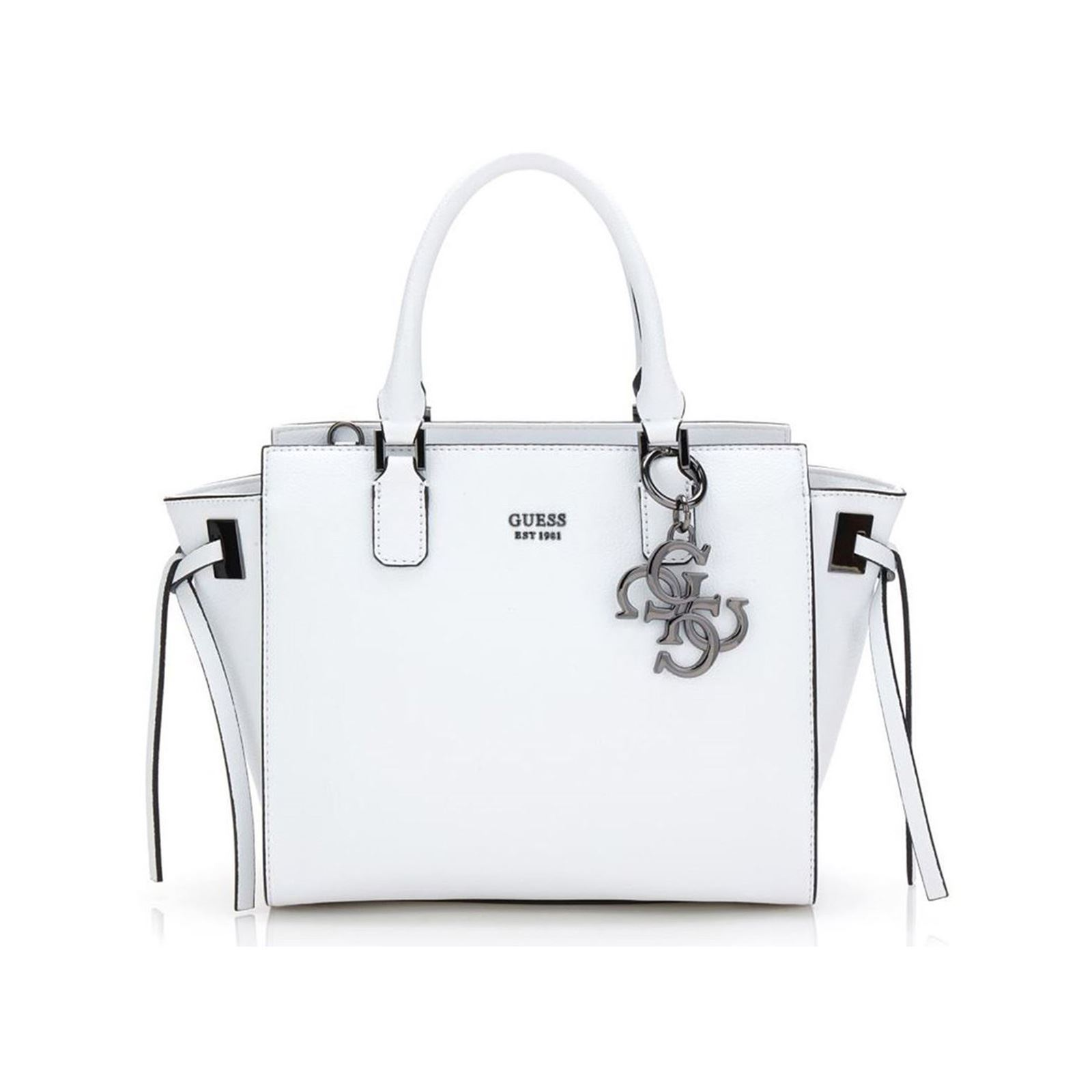 Handbag Off Guess Brandalley Digital White a4xwPqt
