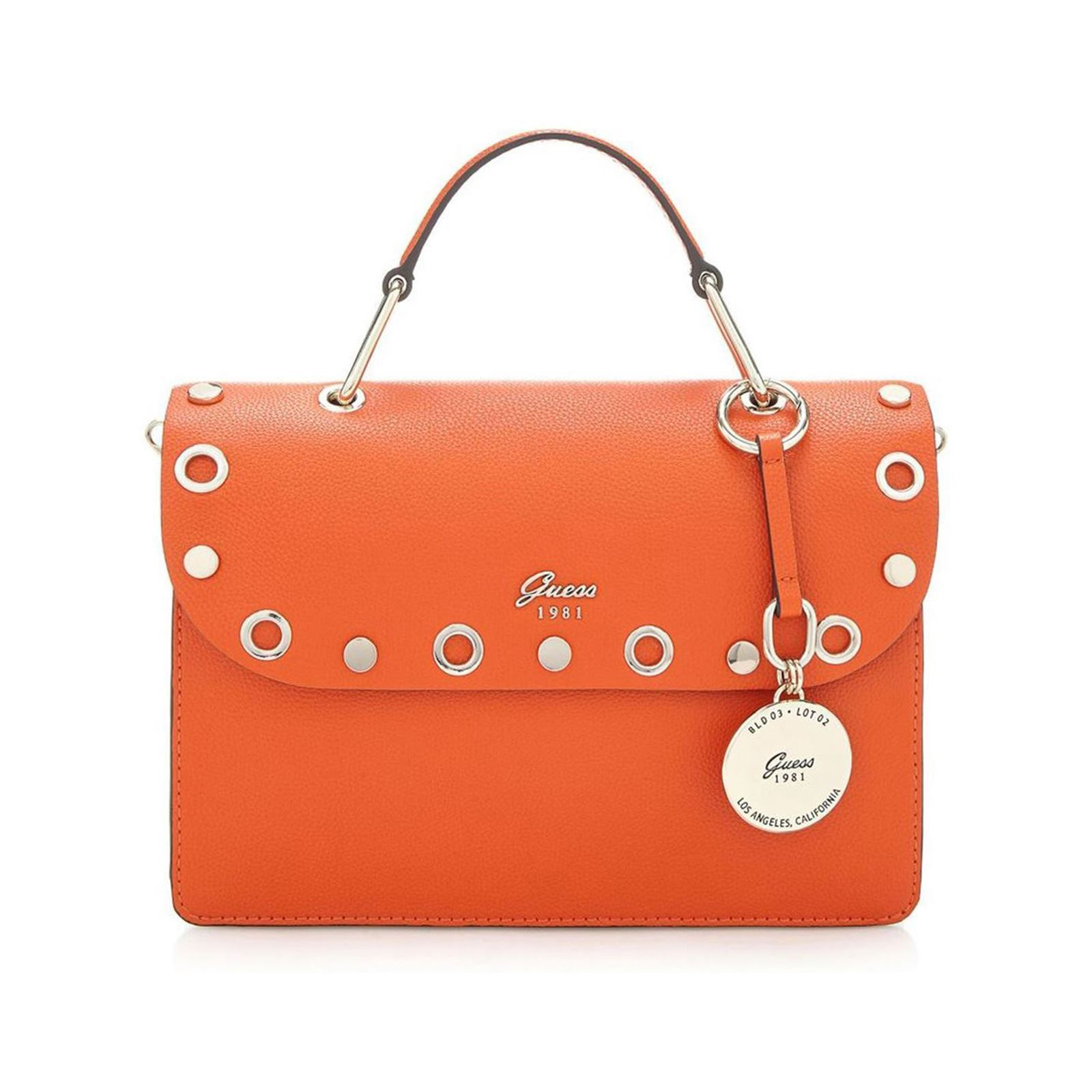 945f8d4d78d Guess Jacqui - Sac à main applications métal - orange