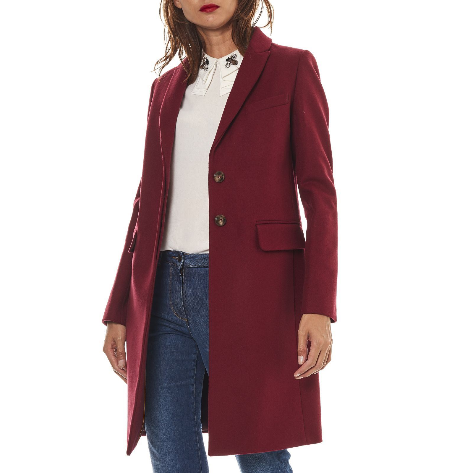 newest a5d58 bb7d4 Benetton Cappotto - magenta   BrandAlley
