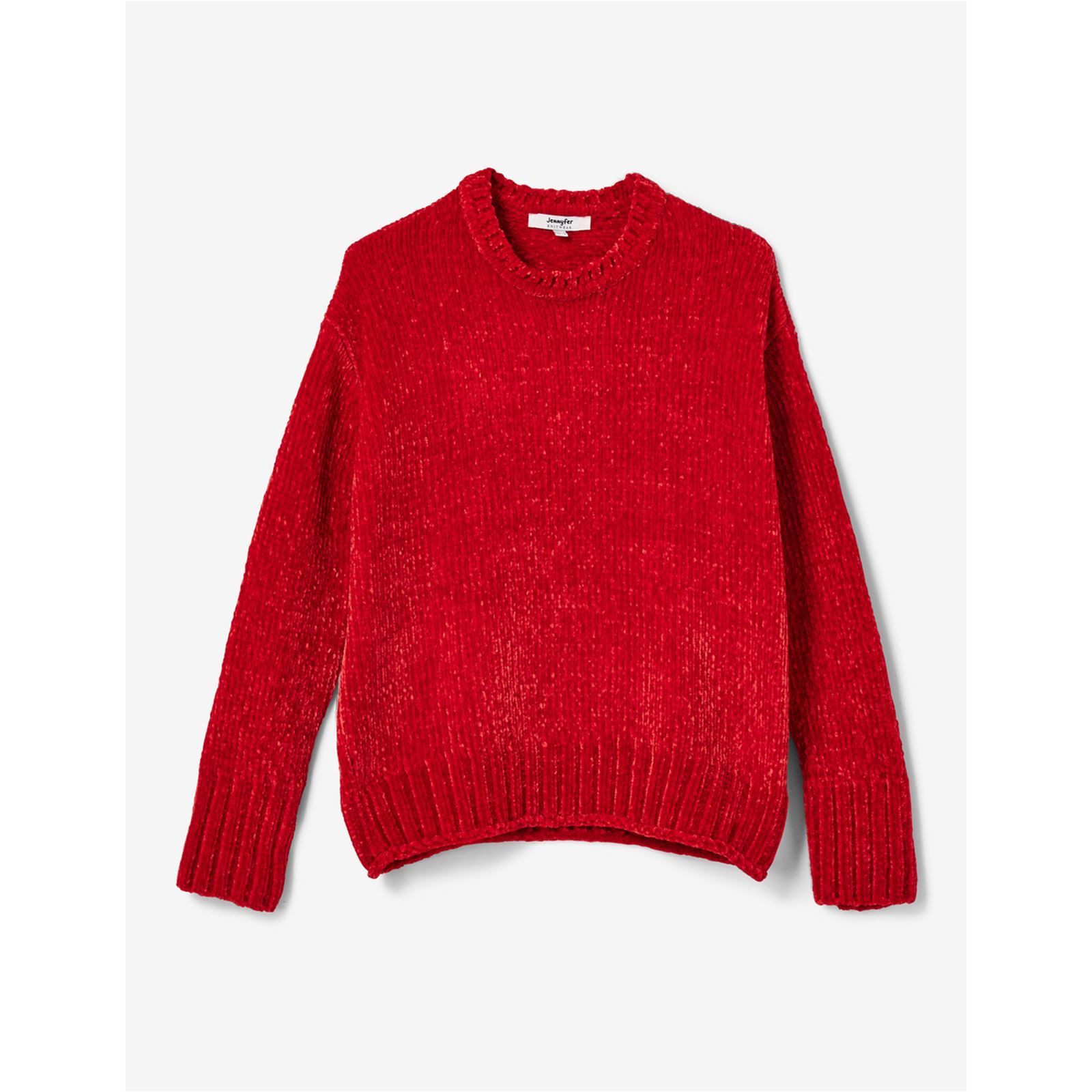 half off new images of best sneakers Pull chenille - rouge
