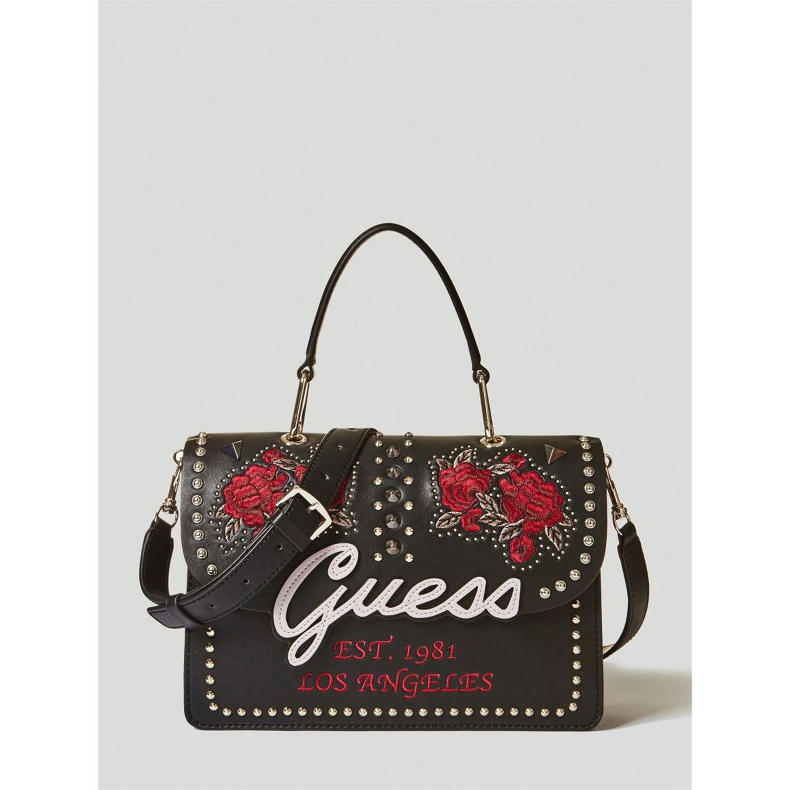 Noir Main Sac Guess Brandalley In Love À 0qBvAZ1w
