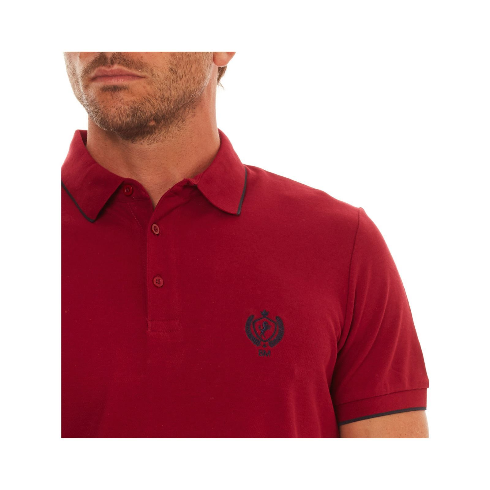 Courtes Polo Manches Bordeaux Mountain Best wq85Ft7x