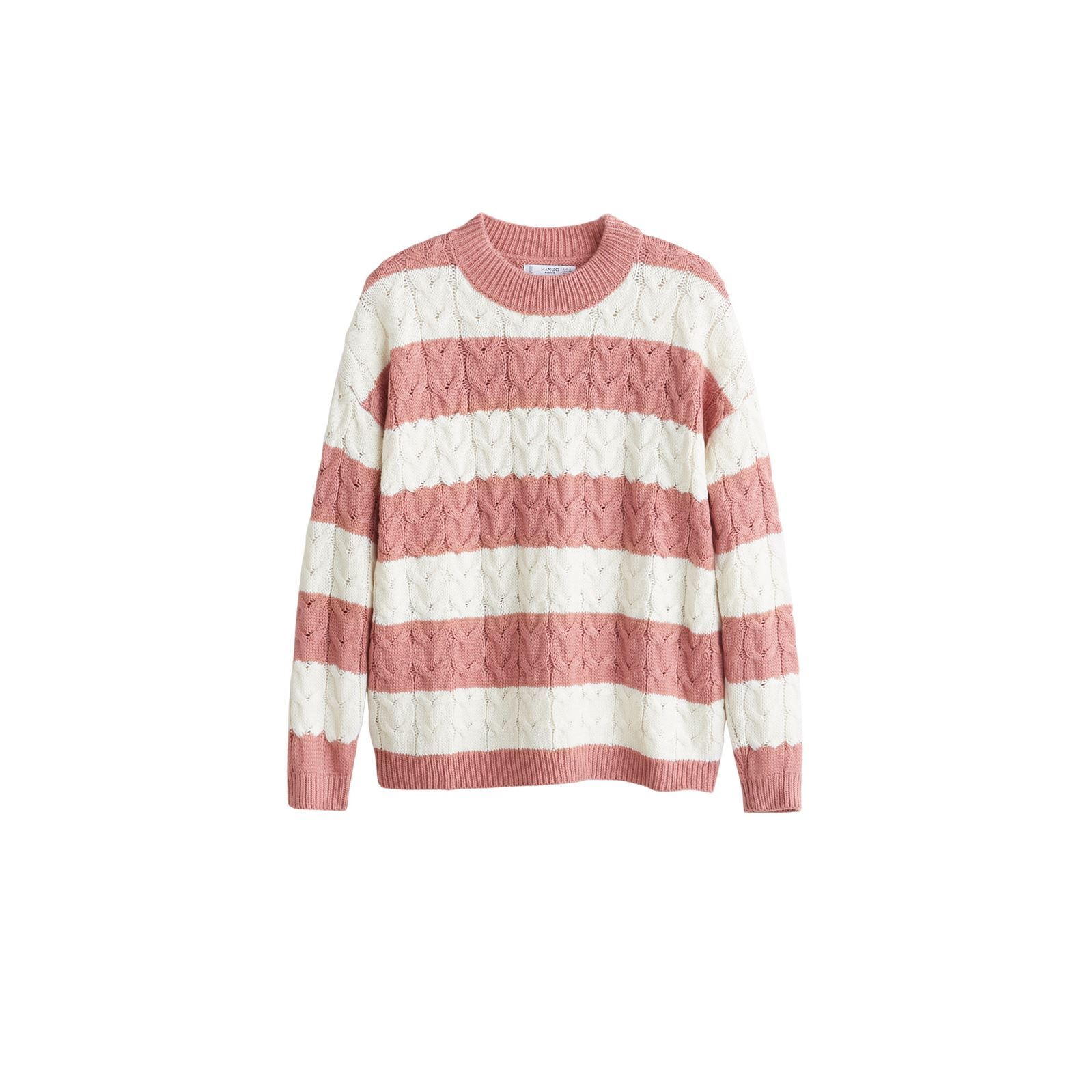 Mango Pull-over en maille à rayures - bicolore   BrandAlley dd0a9977b37