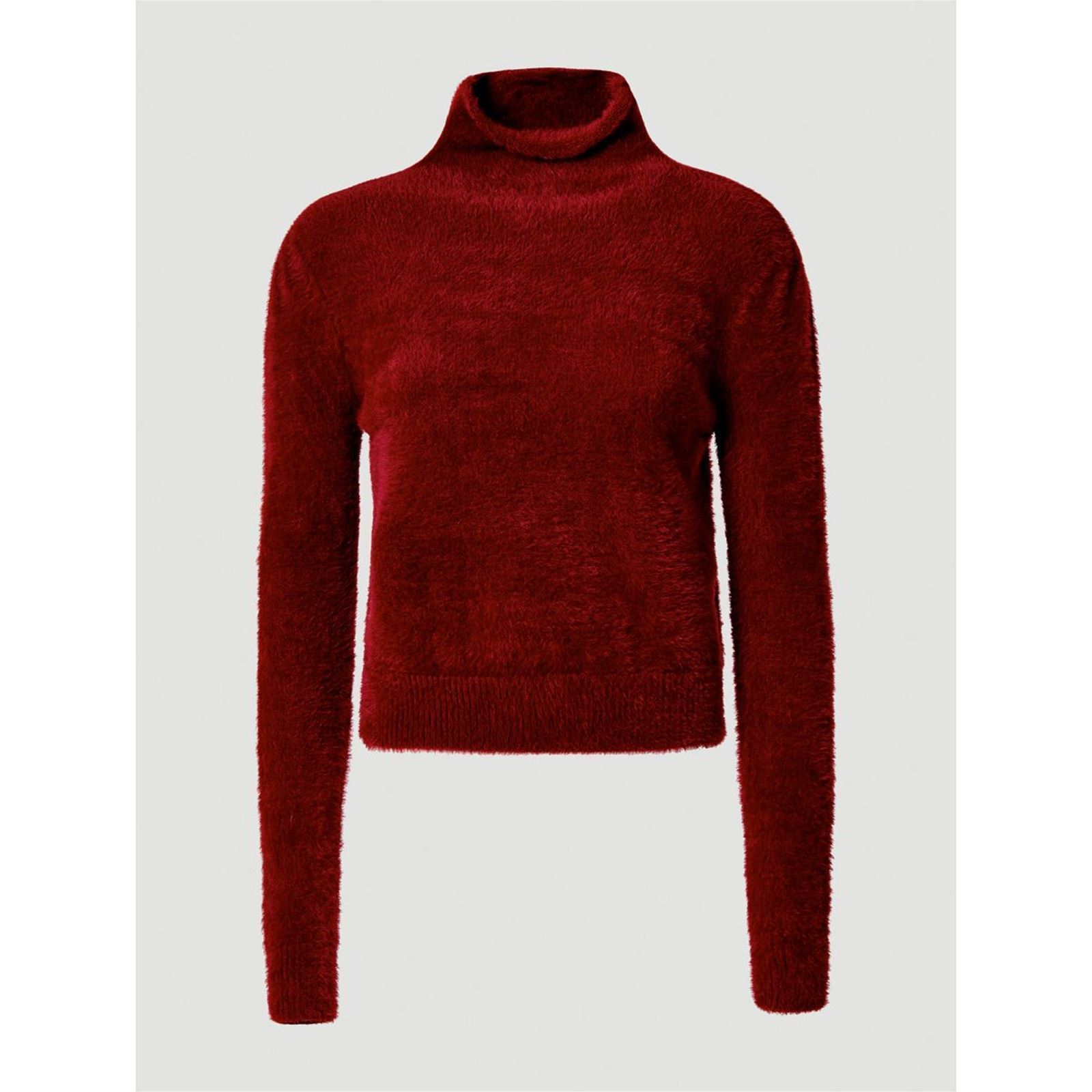 Guess Pull col roulé effet fourrure - rouge   BrandAlley 13737cba11c