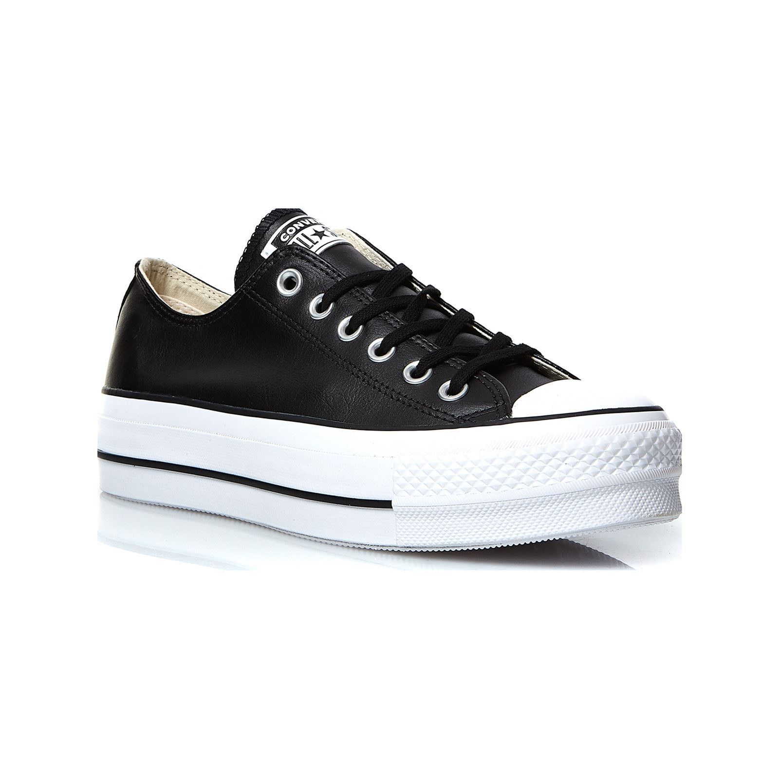 newest 18490 75e0a CONVERSE Chuck Taylor All Star Lift Clean - Baskets basses - noir