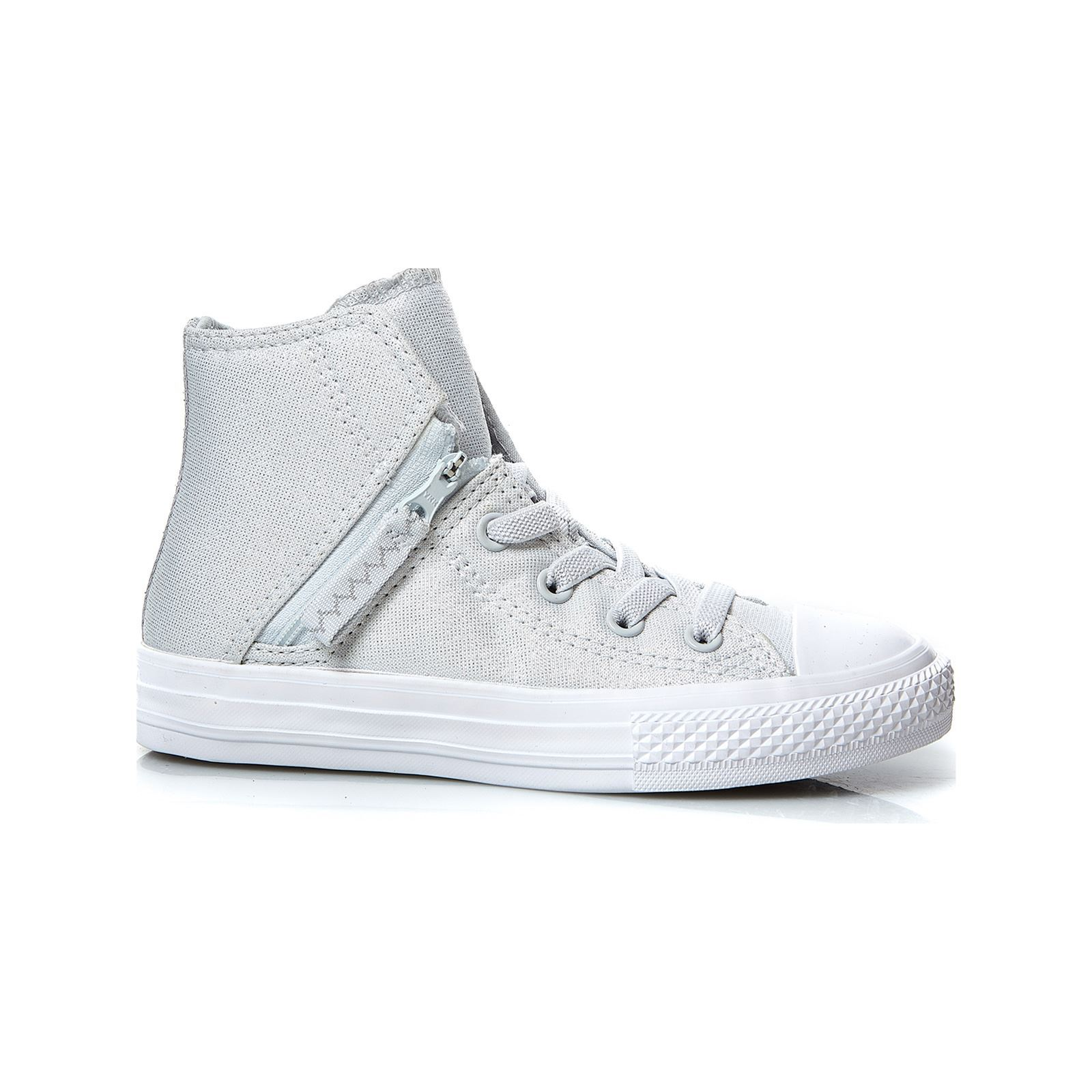 1684ee7f6ddc3 Converse Chuck Taylor All Star - Baskets montantes - gris clair ...