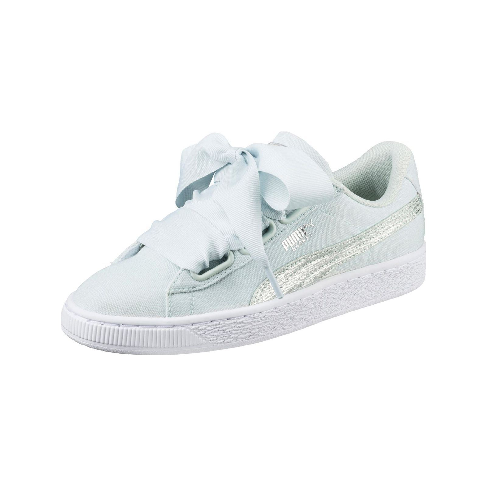 1e999c46f41e Puma Heart Canvas - Baskets Mode - bleu ciel   BrandAlley
