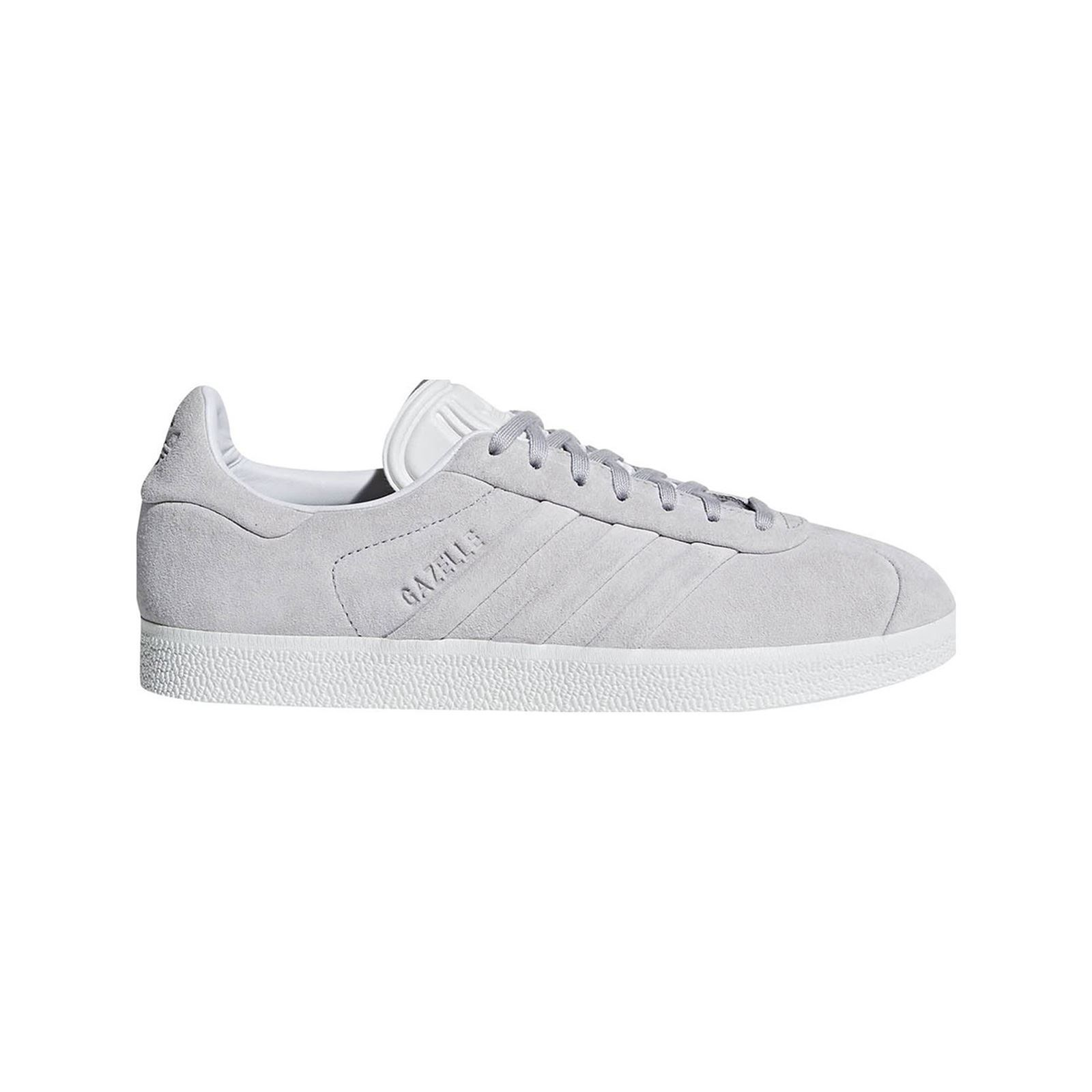 hot sale online e7f3a 310ef ADIDAS ORIGINALS Gazelle Stitch And Turn - Zapatillas de cuero - gris claro