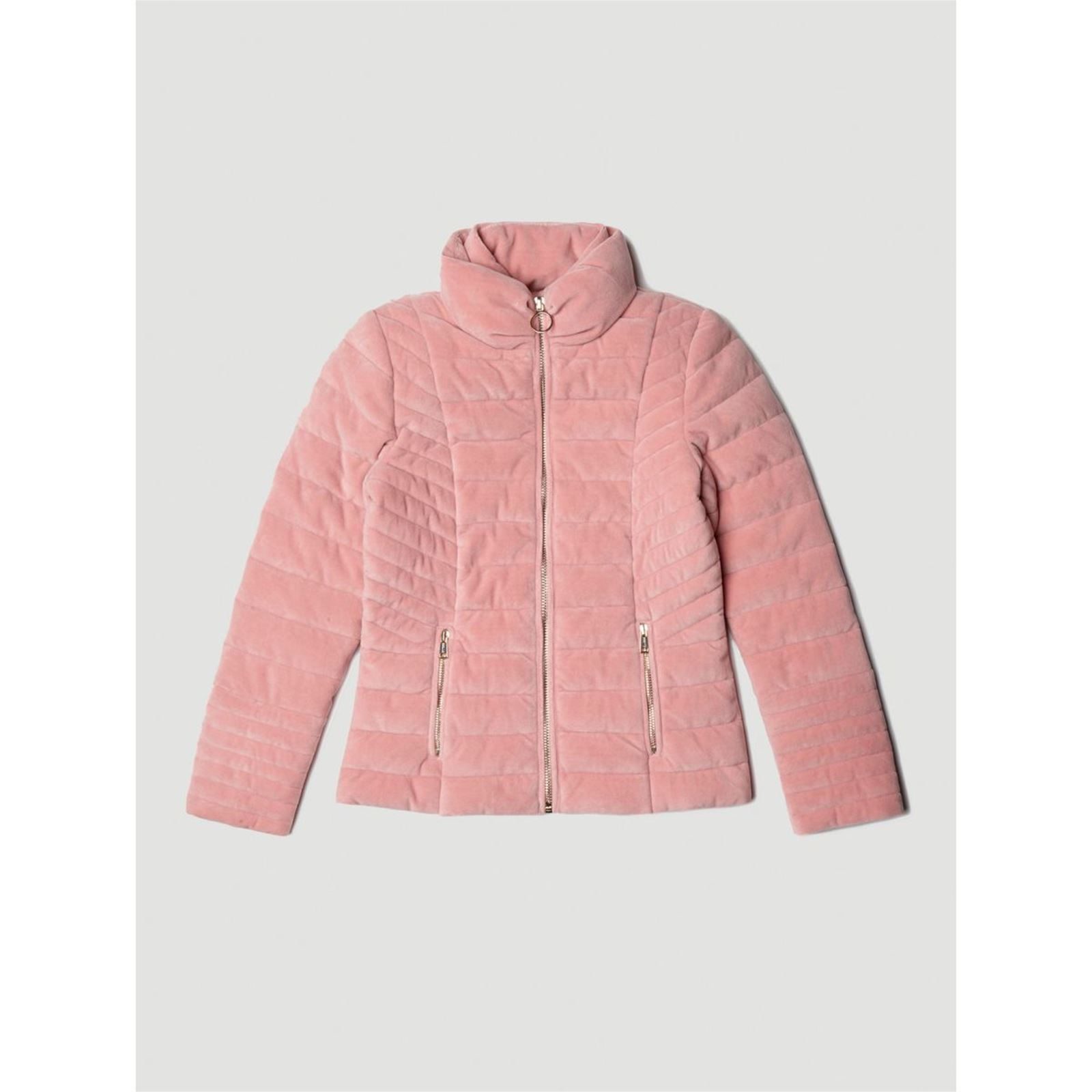 Guess Kids Doudoune velours - rose   BrandAlley 8f133606bc3f