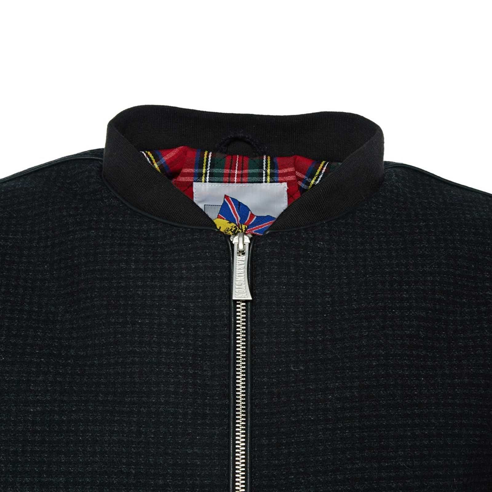Dylan Harrington Brandalley Dylan Veste Noir Harrington Veste qv8qtw