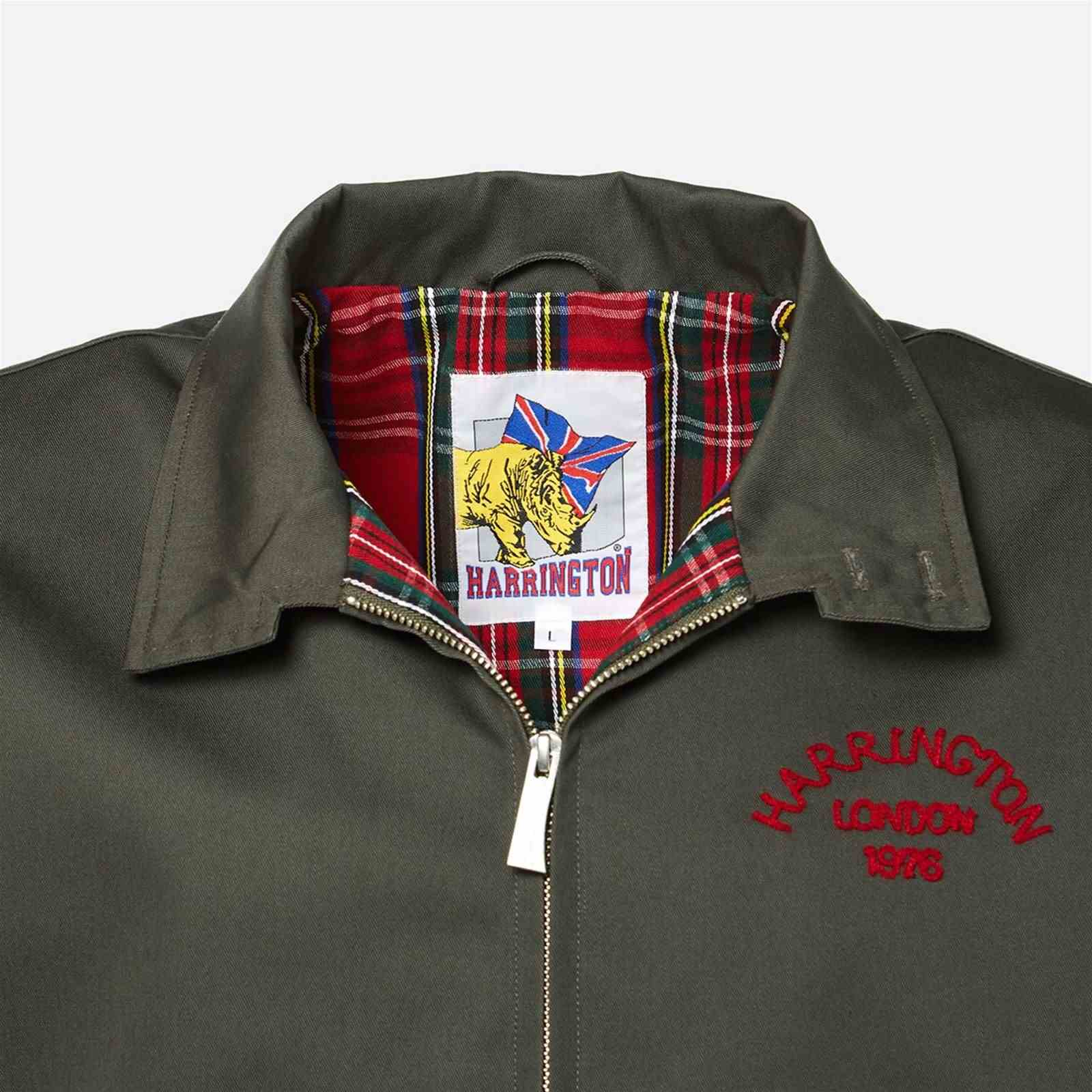University Bombers Harrington Harrington University Bombers Kaki xHtwq