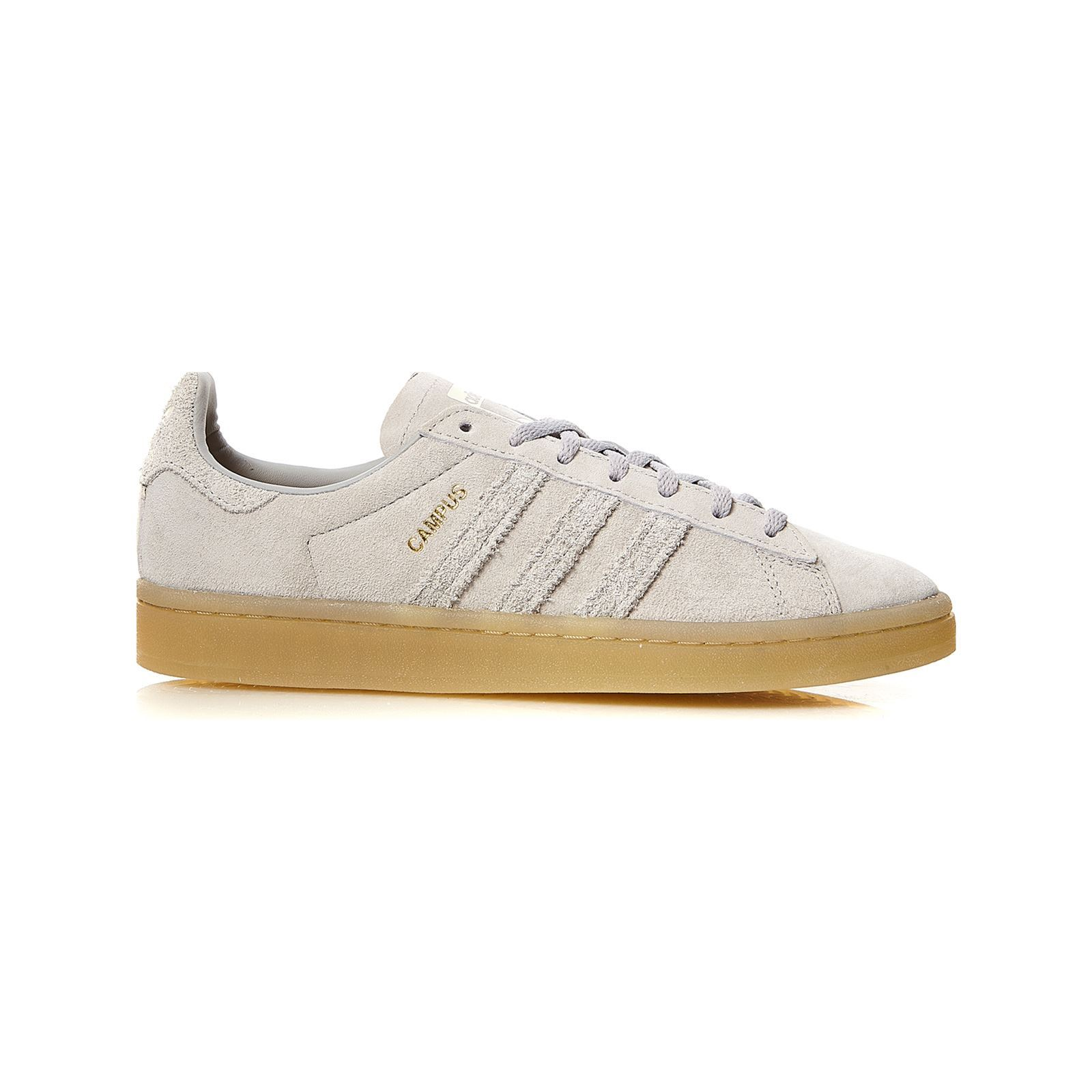 uk availability info for best sneakers Campus W - Baskets en cuir - gris clair