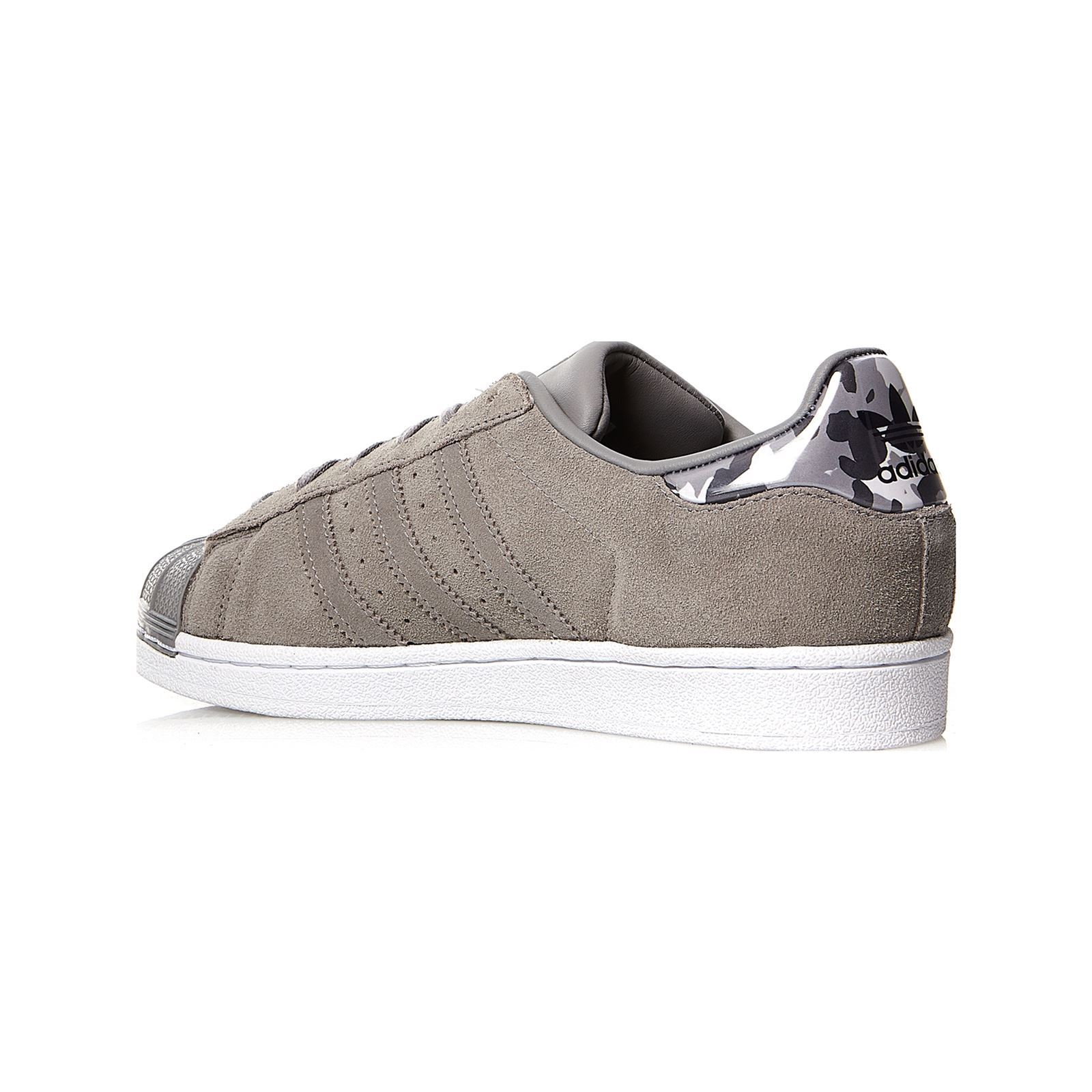 new style 3aa1a 7782b ADIDAS ORIGINALS Superstar J - Sneakers in pelle - grigio