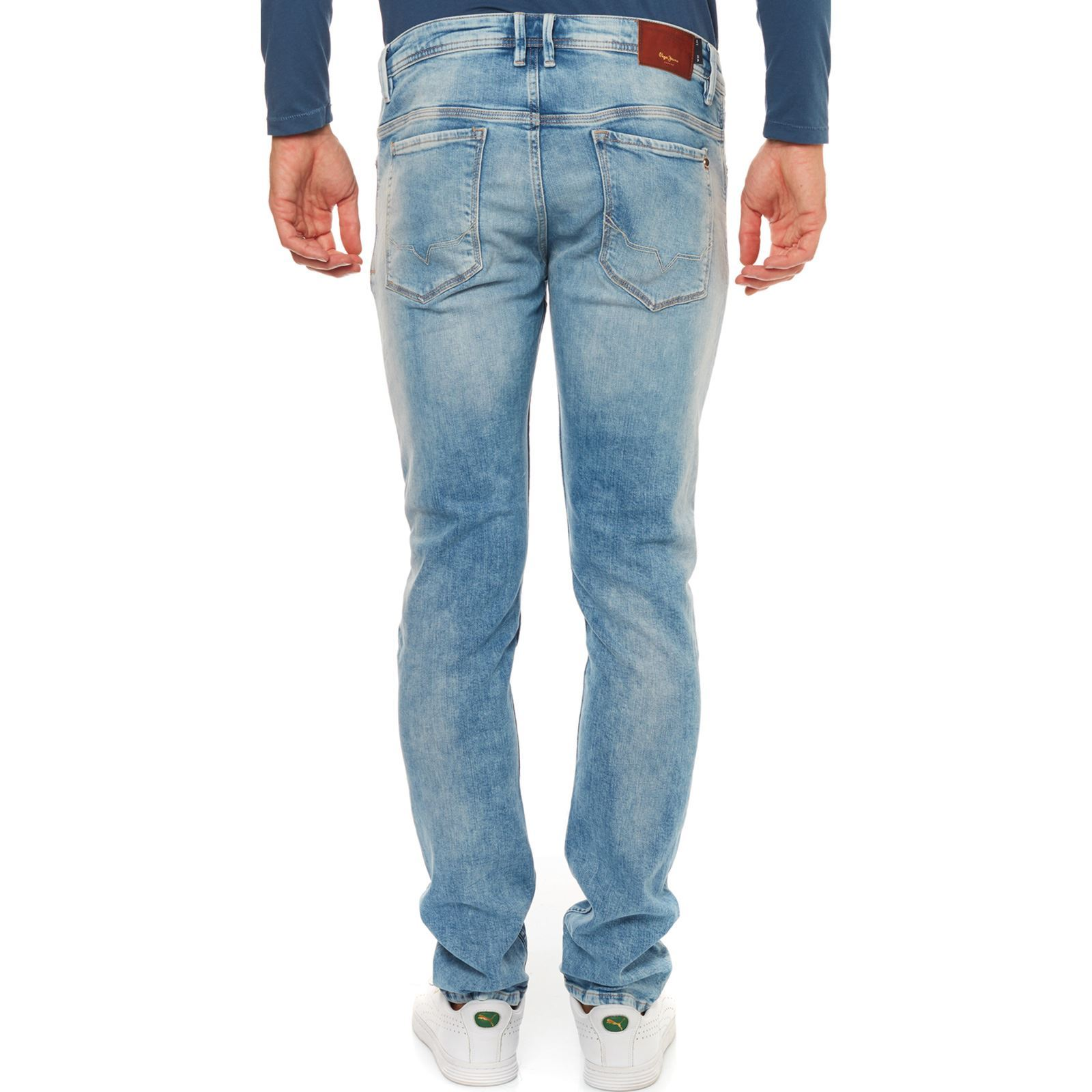 London Bleu Worn Jean Cut Zinc Pepe Jeans Brandalley Slim Izng450