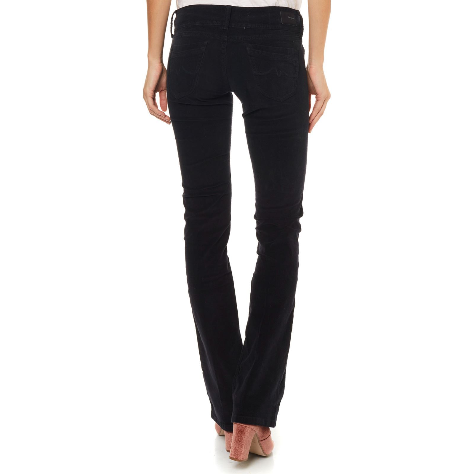 Grace Jeans Pantalon London Noir Pepe OpnWxaXgg