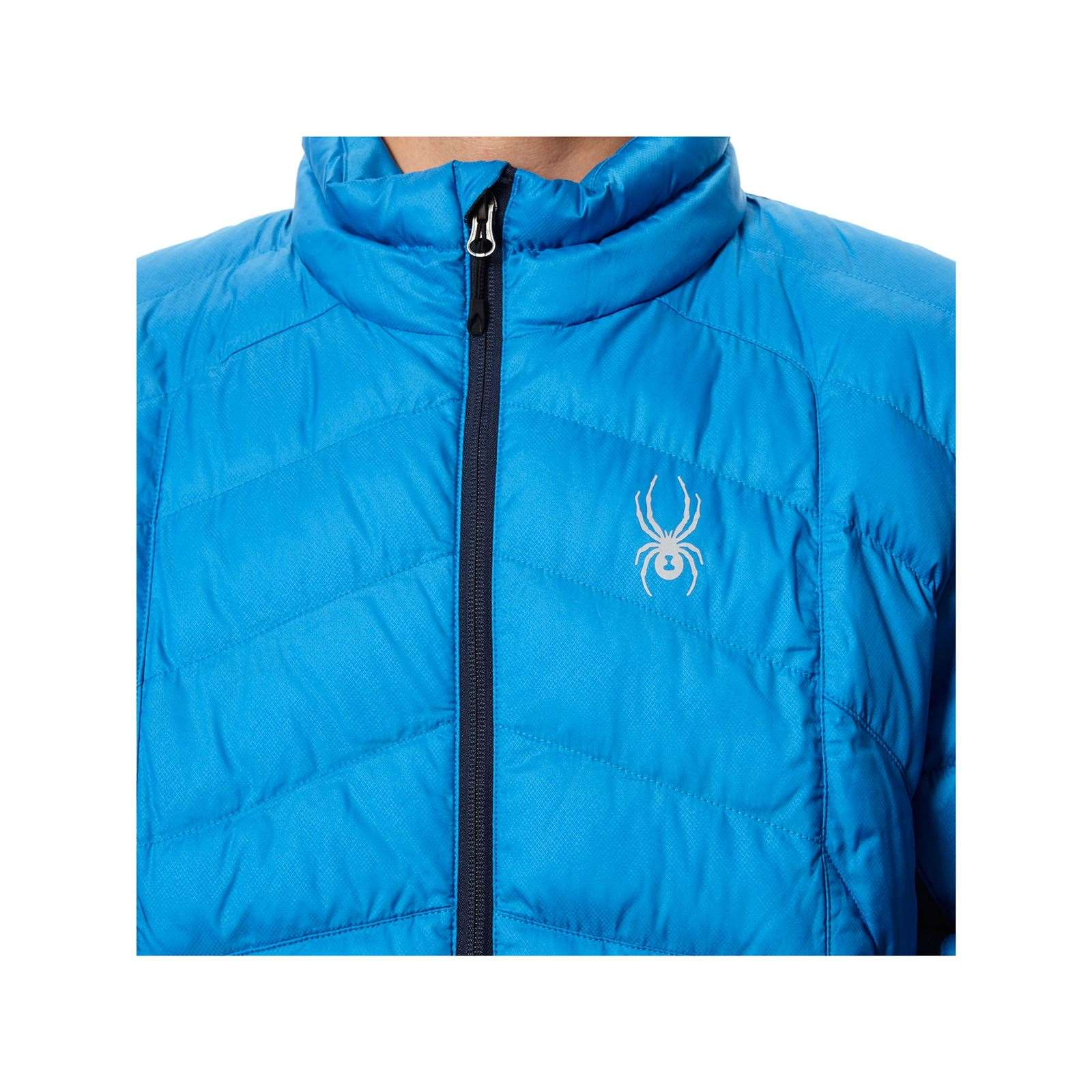 Geared Full Zip Daunenjacke blau