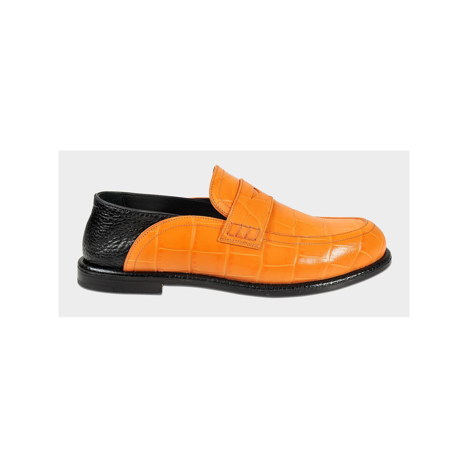 Mocassins Cuir Orange En Loewe Brandalley TfPRqZw f1b9e6ddc1a2