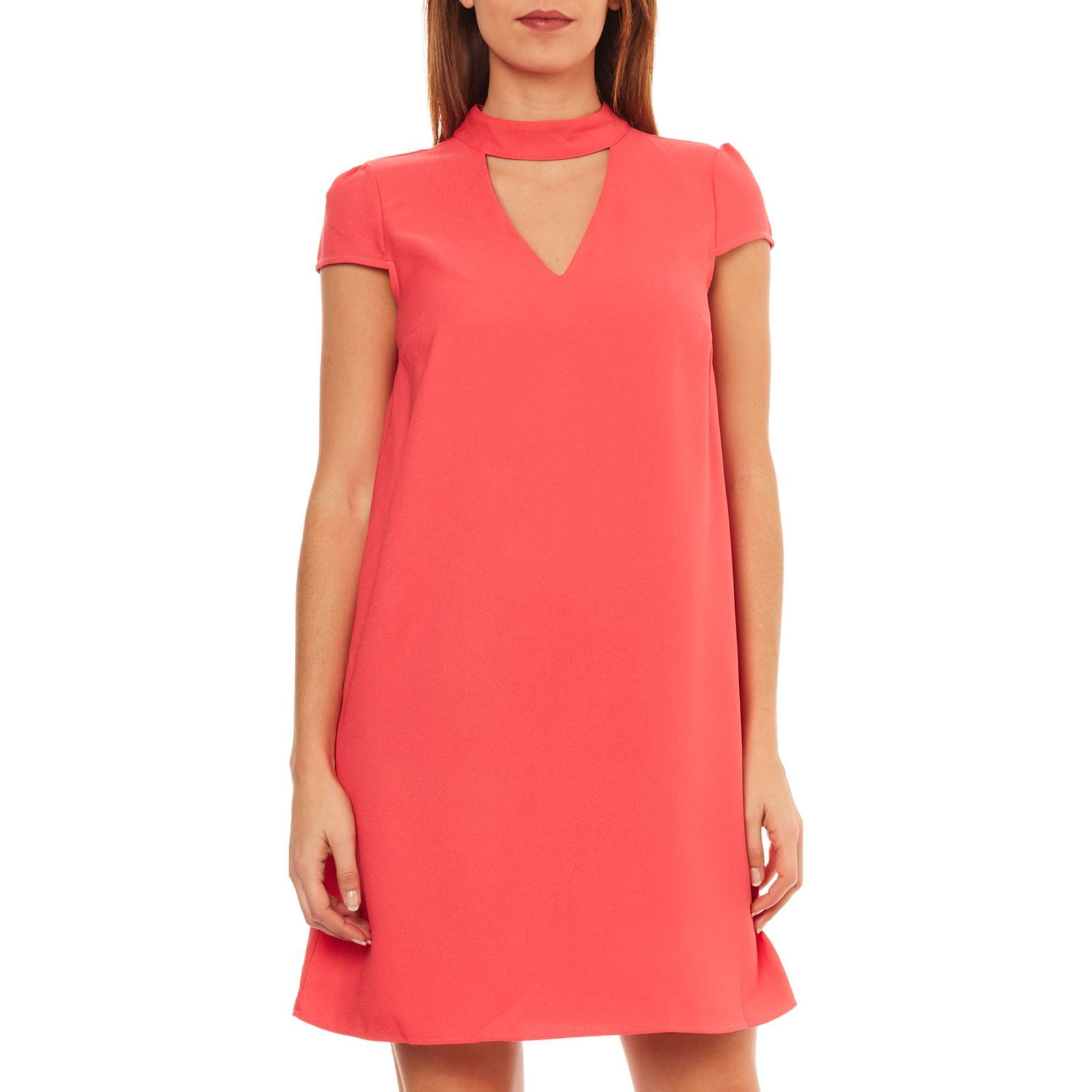 Naf Naf Polaire - Robe droite - corail   BrandAlley 6ee1db031340