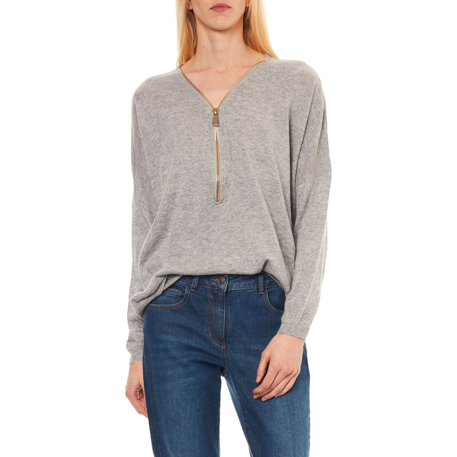 Et Gris Et Pull Maille Pull Cachemire Cachemire Maille wI0nRZq