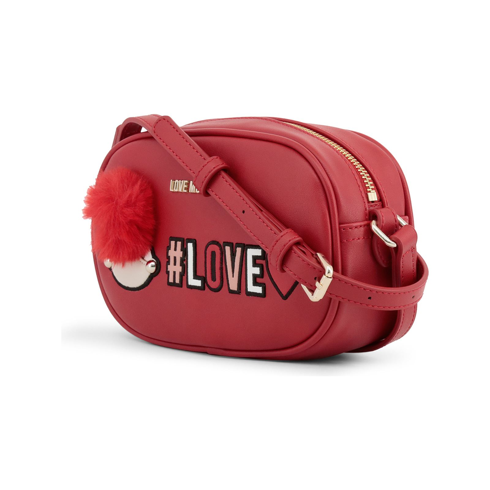 23ada927a0 Love Moschino Sac pochette - rouge | BrandAlley