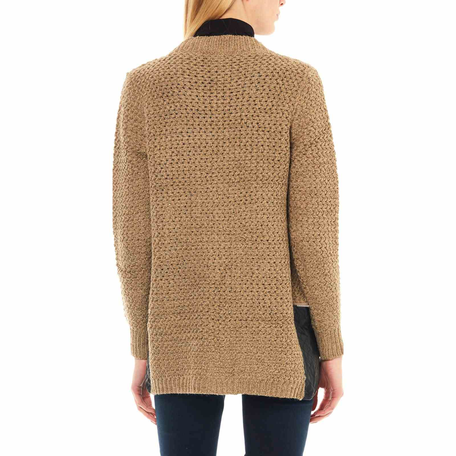 55f7a17826b Brandalley Cachemire Gilet Et Maille Taupe S5YIIq
