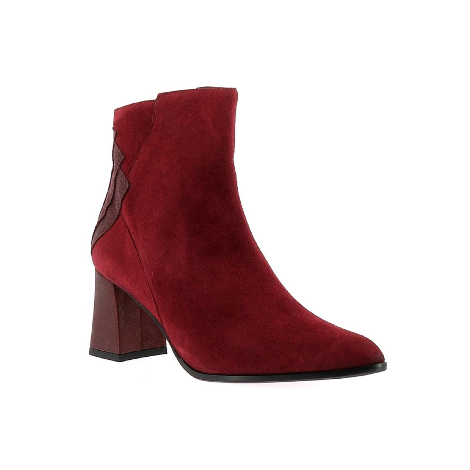 Cuir En Dhexter Stuart Brandalley Elizabeth Rouge Bottines q1aT78