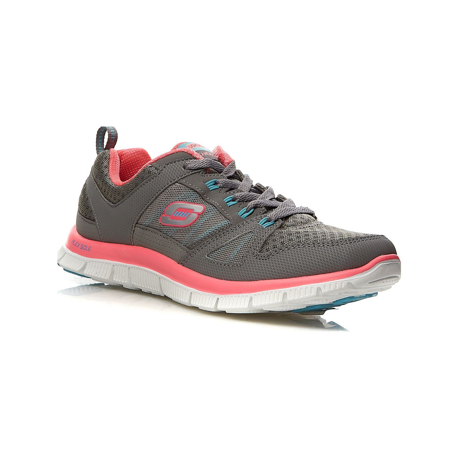 Calzature Da In Bi Sport Materiale Skechers GrigioBrandalley Pelle tsCrxhQBd