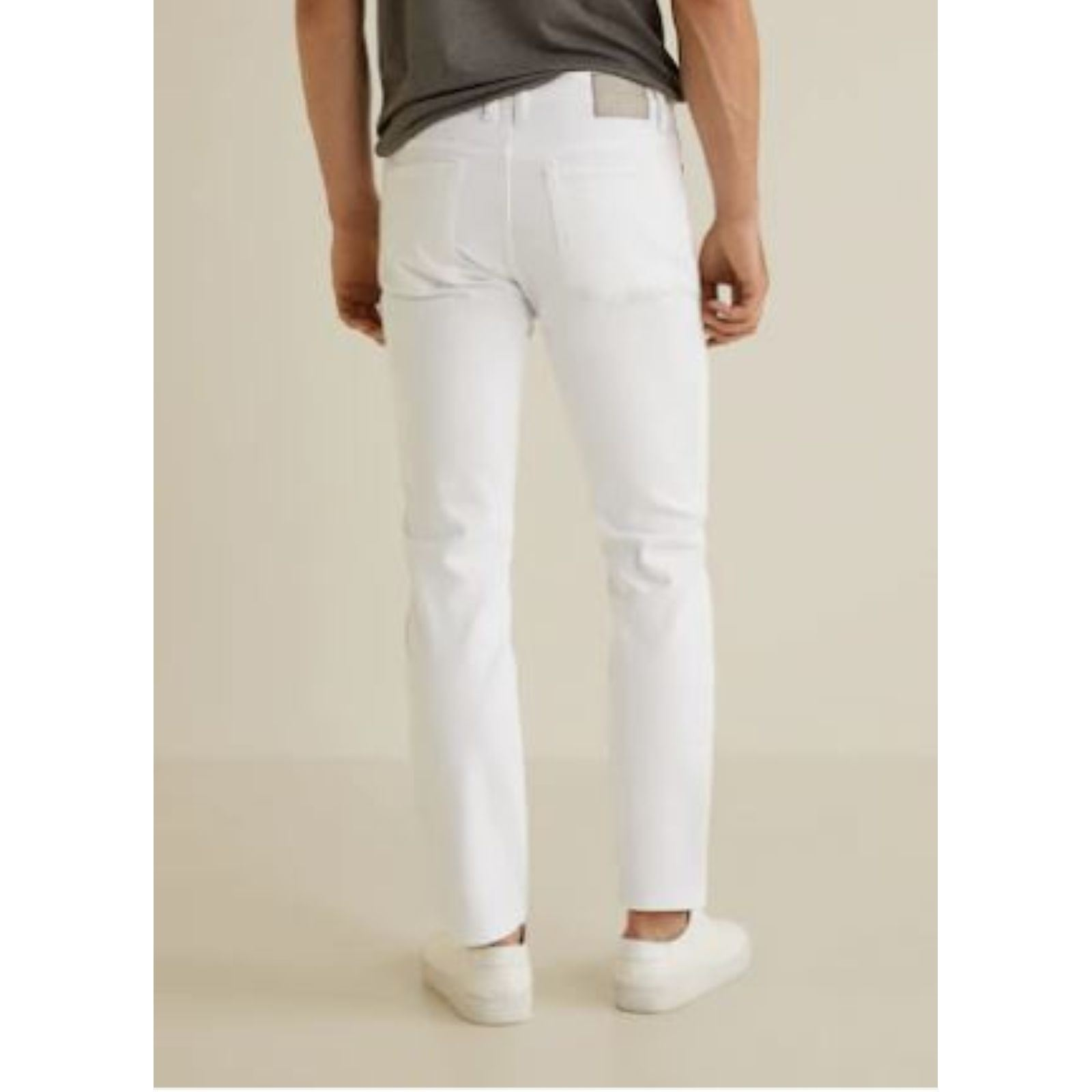 Mango Man Slim fit Jean Jan Blanc xBRx0