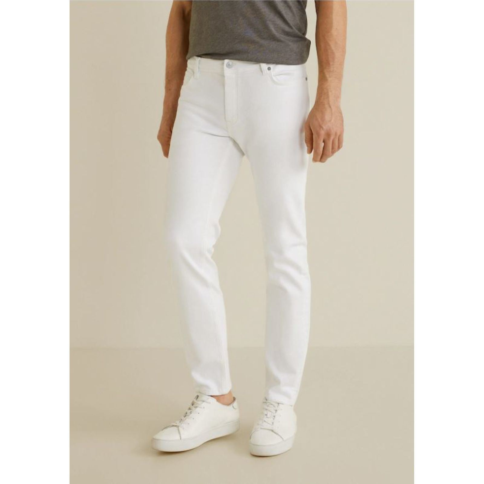 Jan Man Mango Blanc fit Jean Slim pn45Fqwf