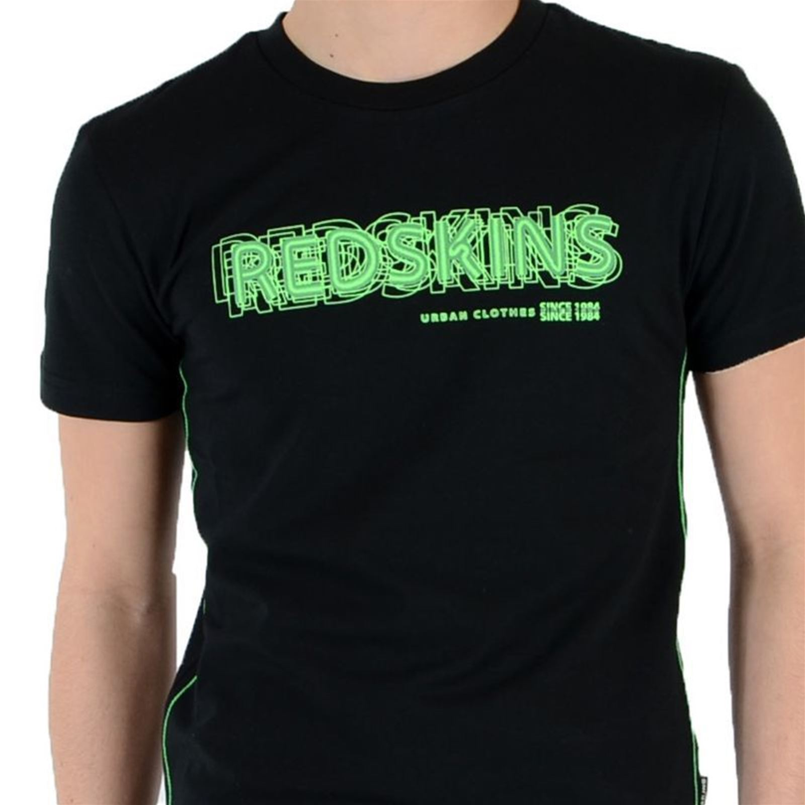 Junior Noir T Courtes Manches shirt Redskins UY6wdXFnxY