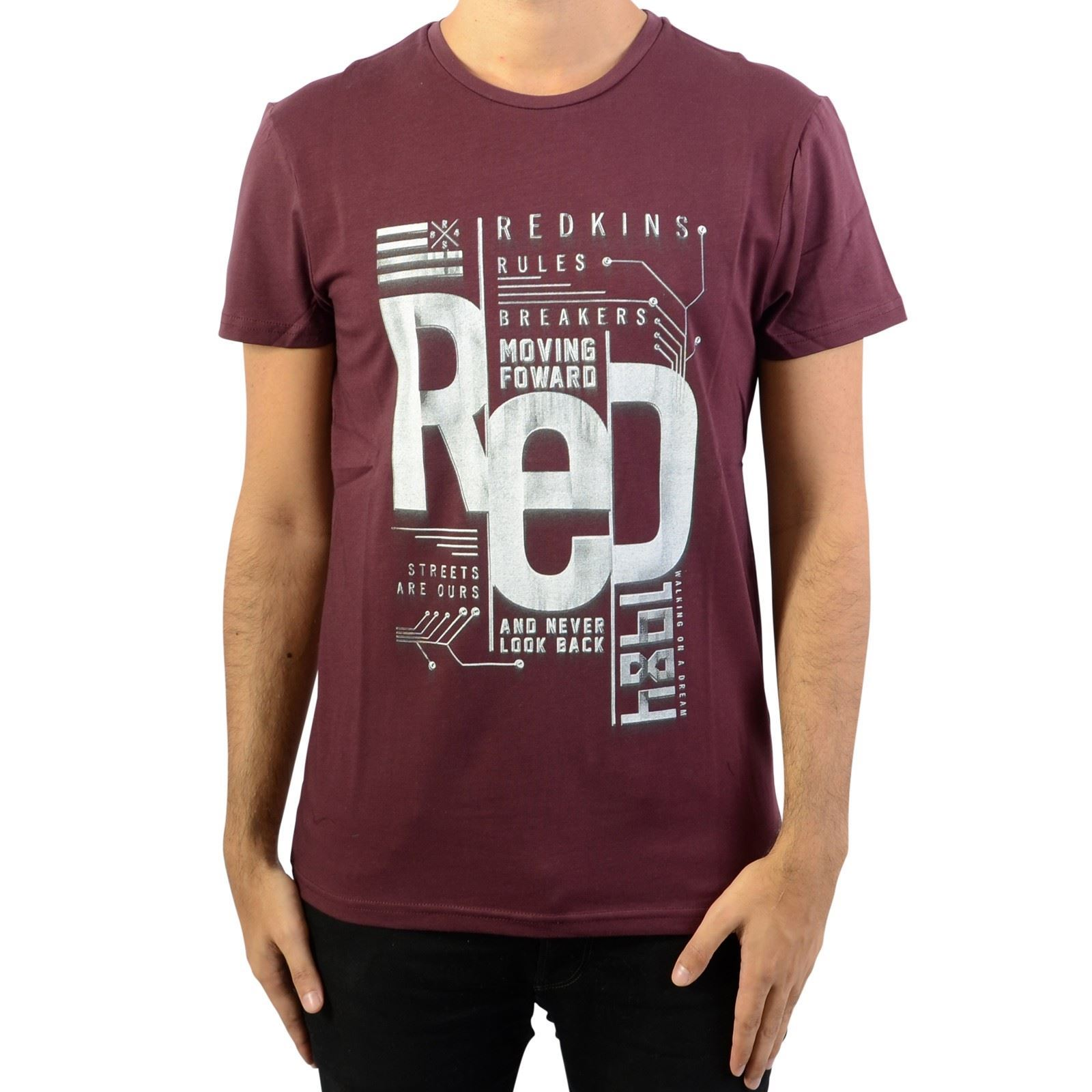 Redskins T-shirt manches courtes - rouge   BrandAlley 72bd7c2404a