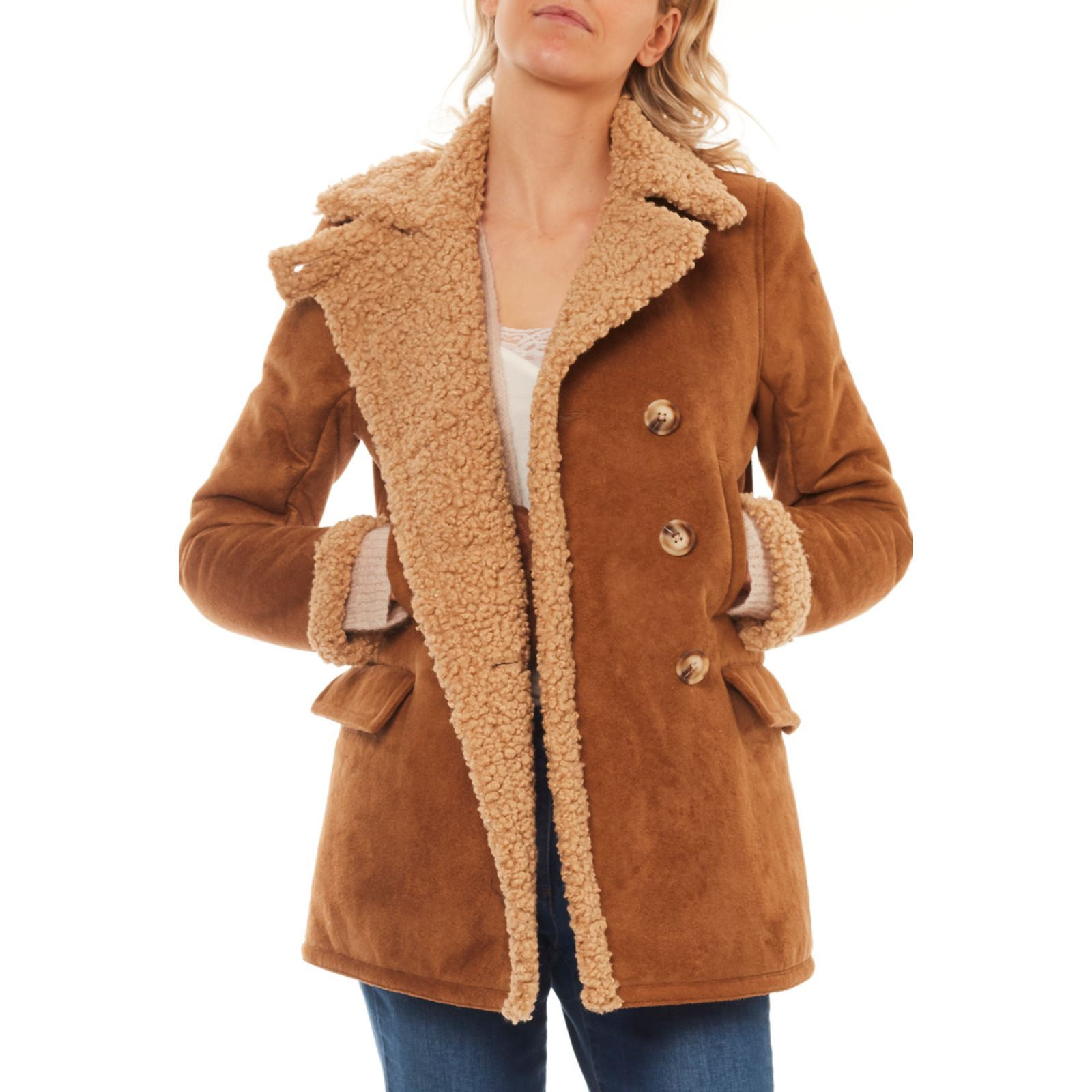 Brandalley Clair Marron Texas Caroll Manteau tw7IXxtvcq 4babfa90fe7