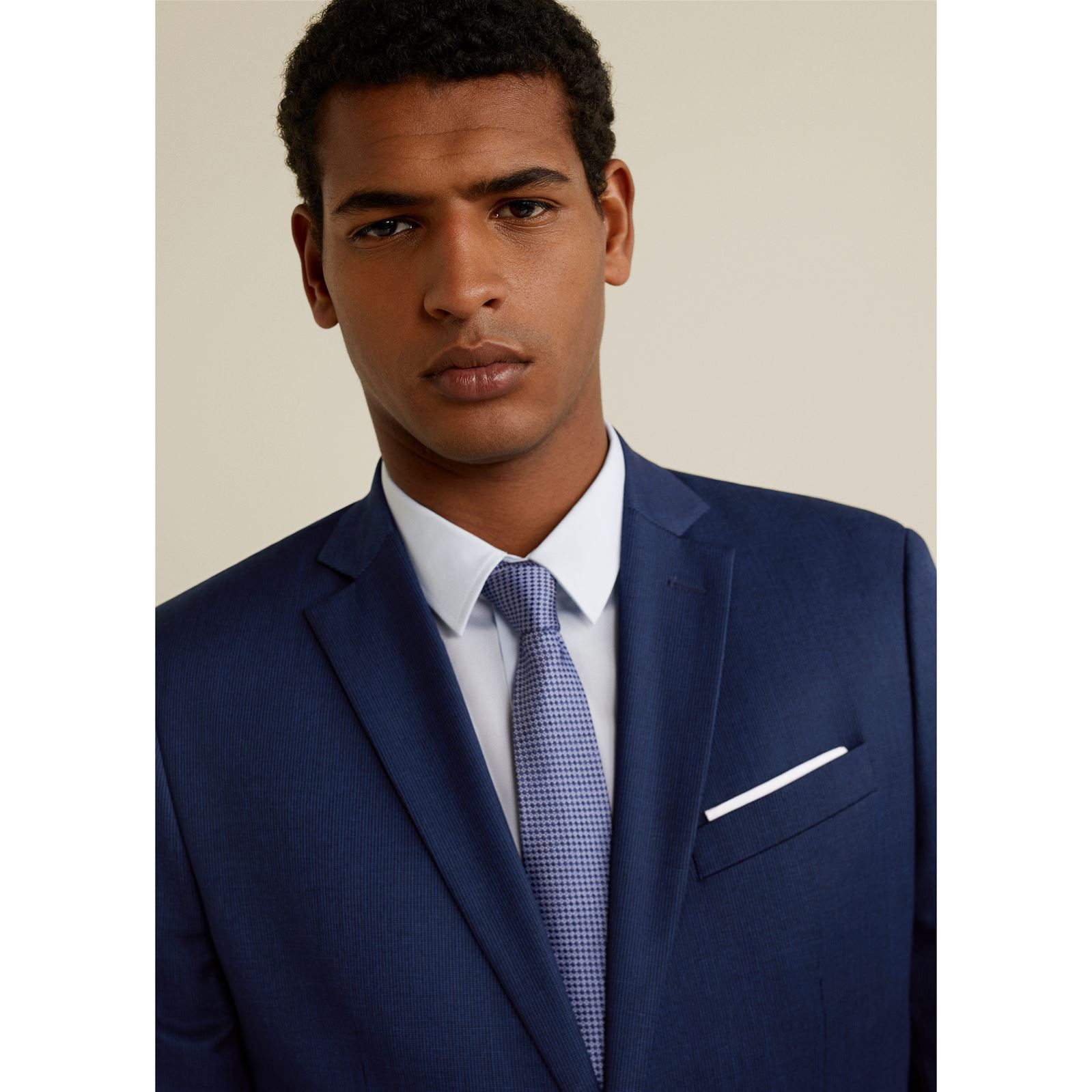 Slim Veste Bleu Tailored Mango Costume Structurée De Man Fit EOv8PxX