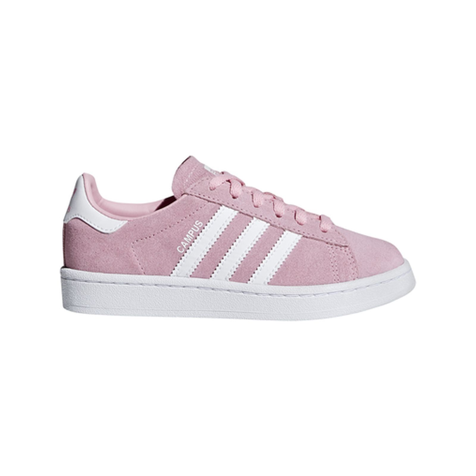 Campus C Baskets en cuir rose