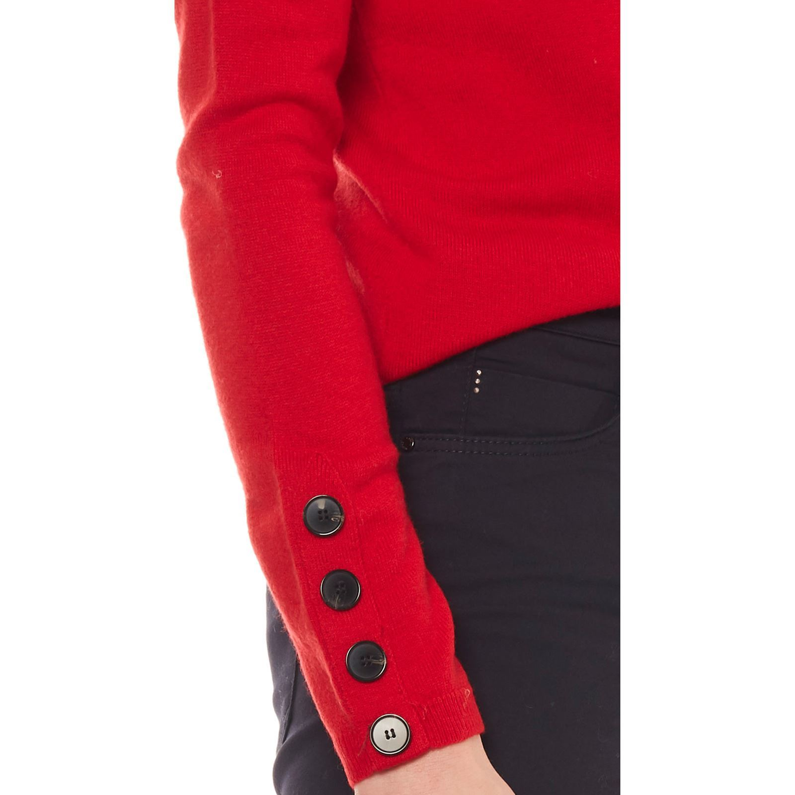 Caroll Sabrina - Pull 50% laine - rouge   BrandAlley 94554bc751c