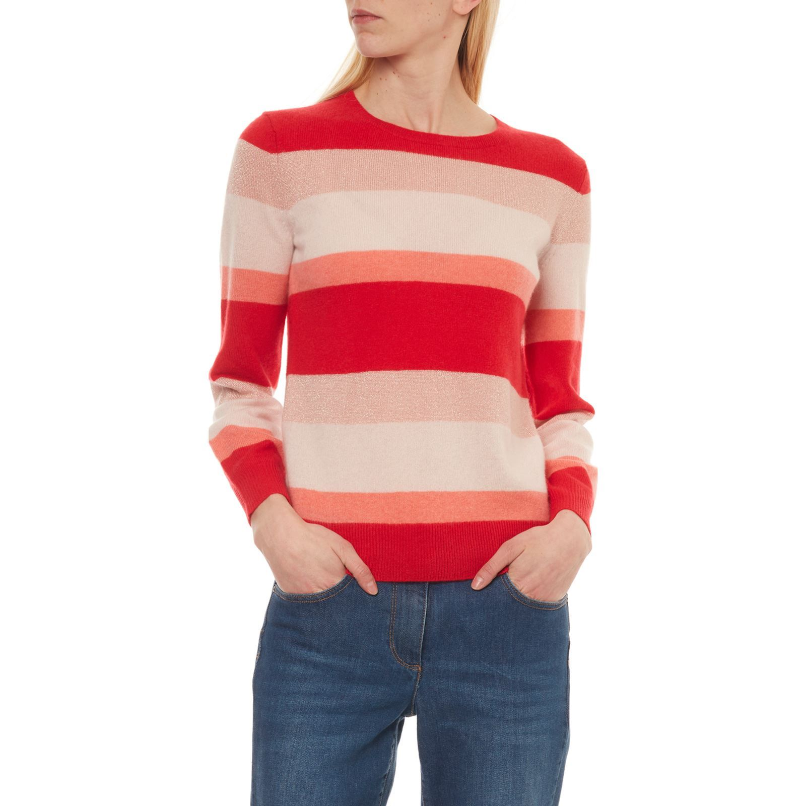 Caroll Juliette - Pull 97% cachemire - rouge   BrandAlley 081a13ae40b