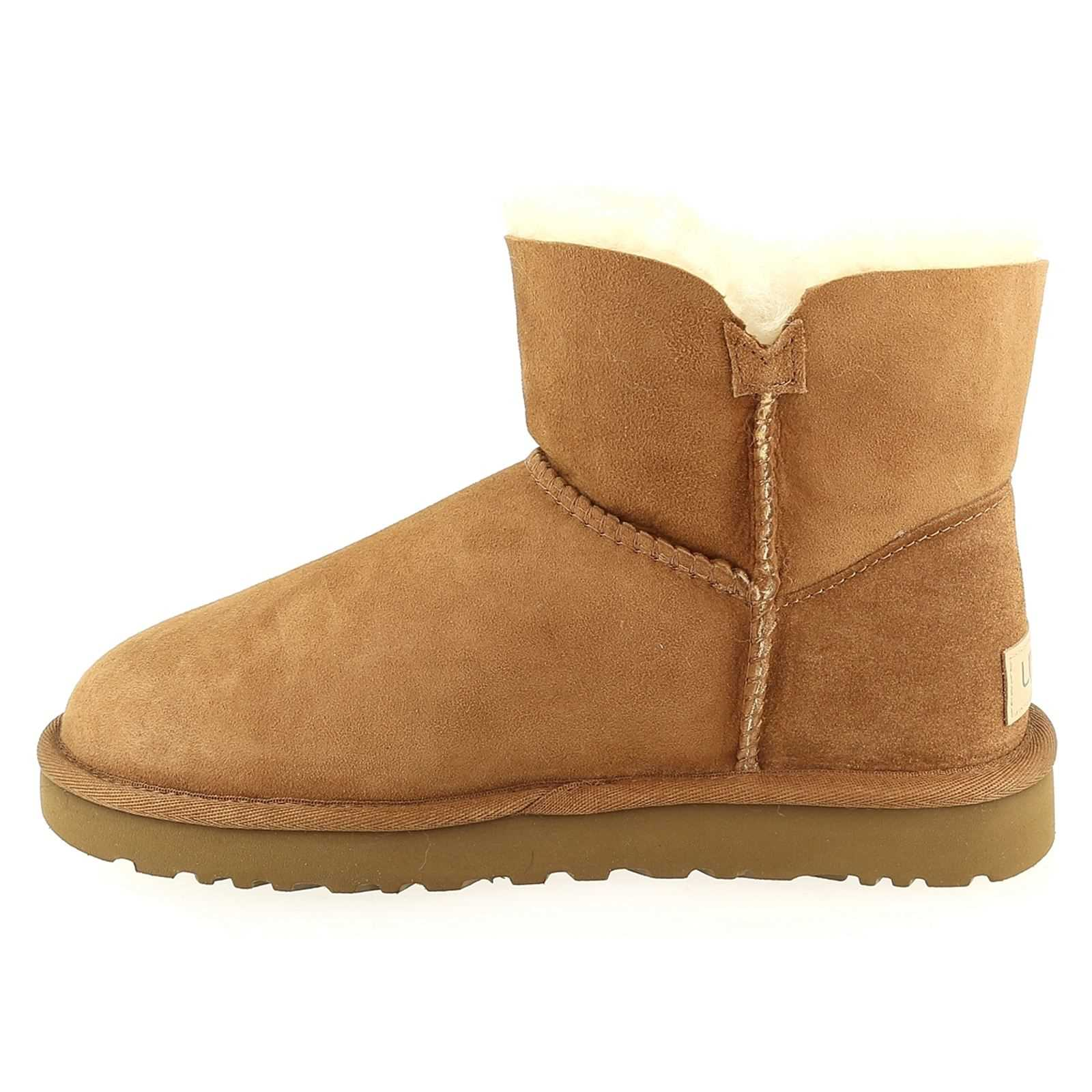 Boots Brandalley Bailey Button Mini Noisette Ugg qwZSq