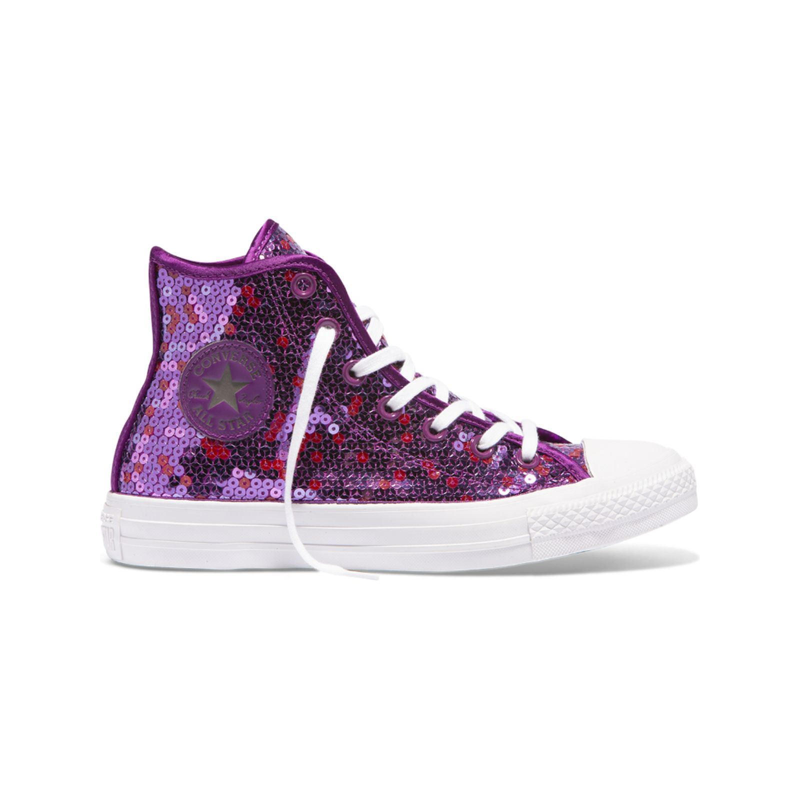 a48817873e48d Converse Chuck Taylor all star - Baskets montantes - mauve   BrandAlley