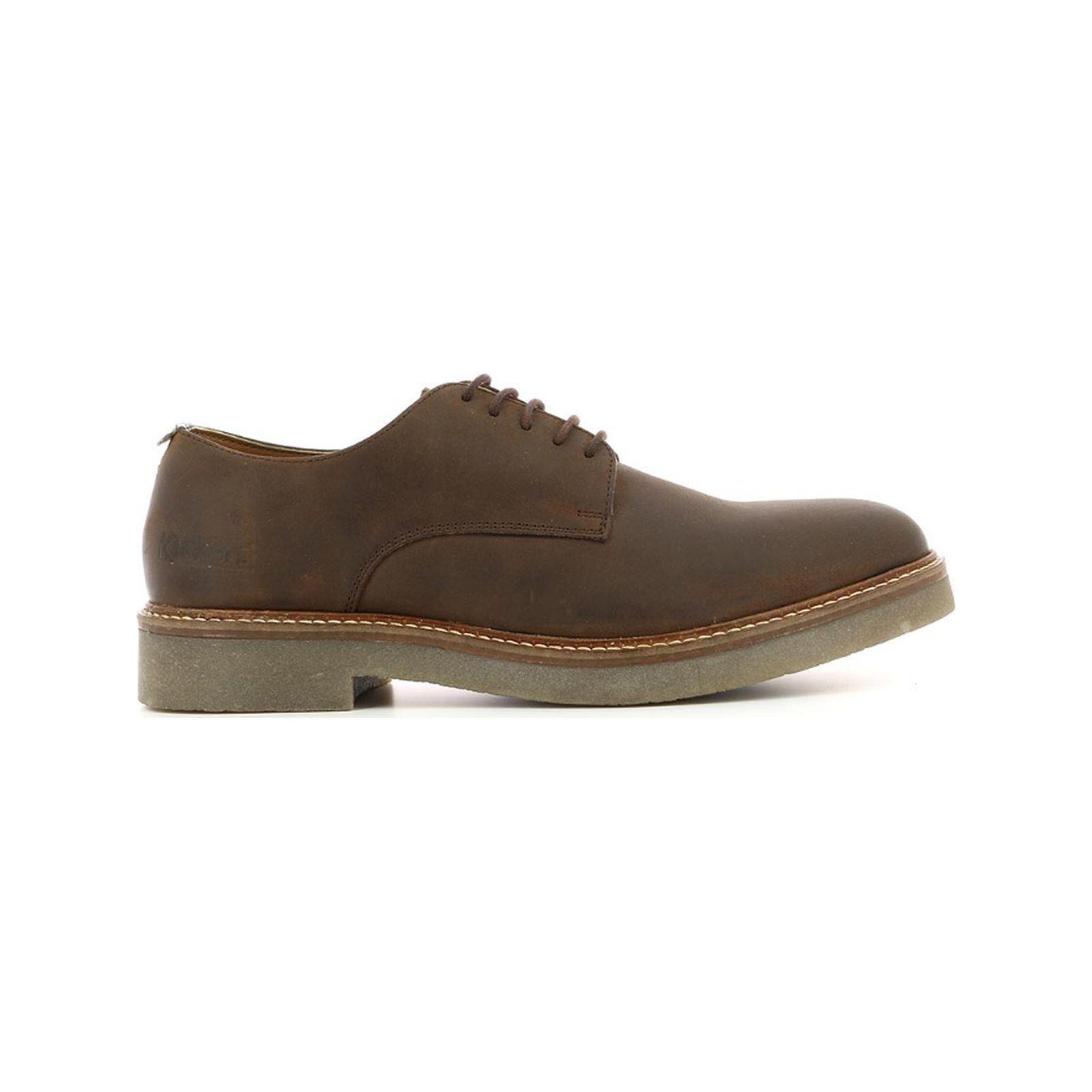 Kickers Oxfork - Derbies en cuir - marron   BrandAlley e4ff01bc8e79