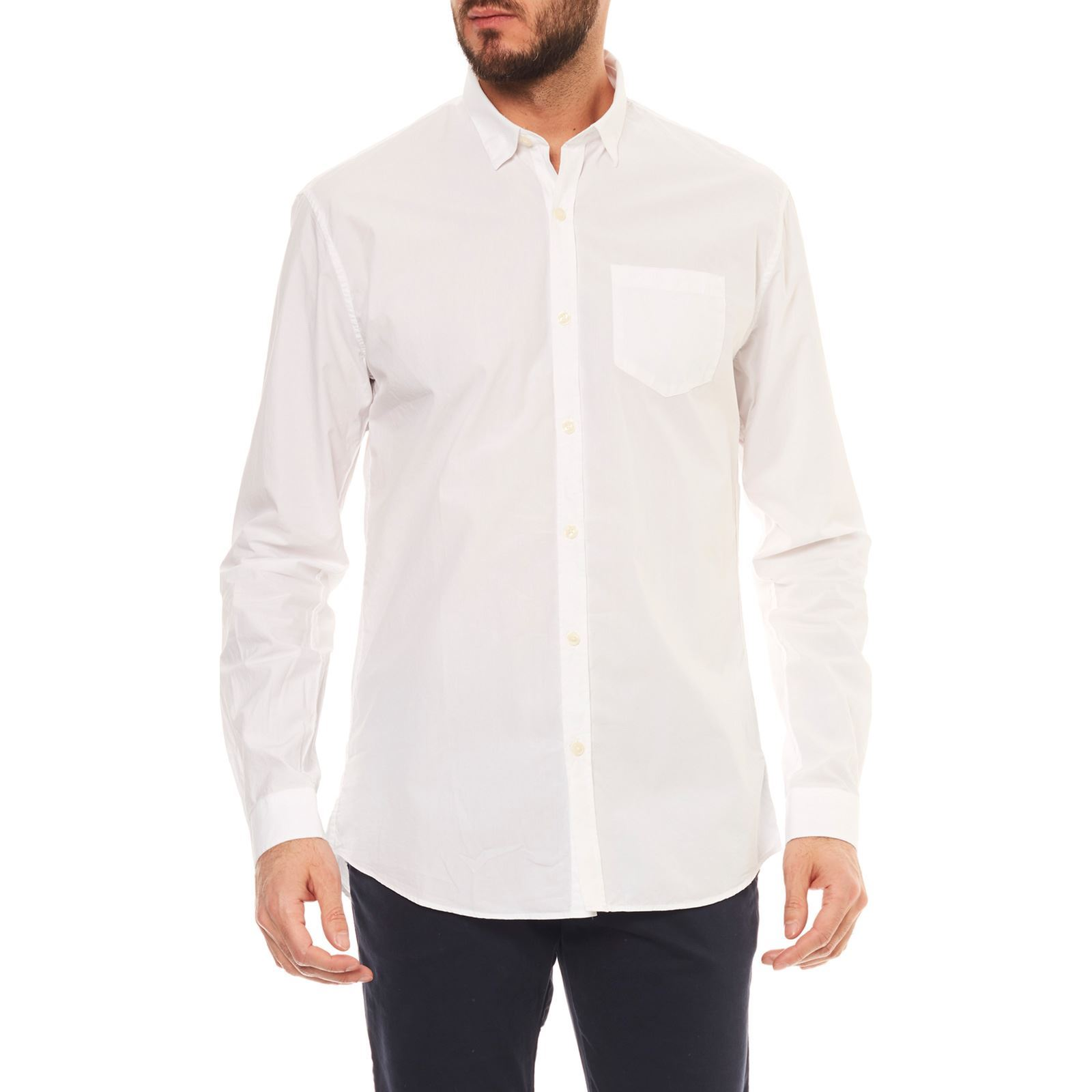 Bill Chemise Manches Blanc Tornade Longues Mariote aargx
