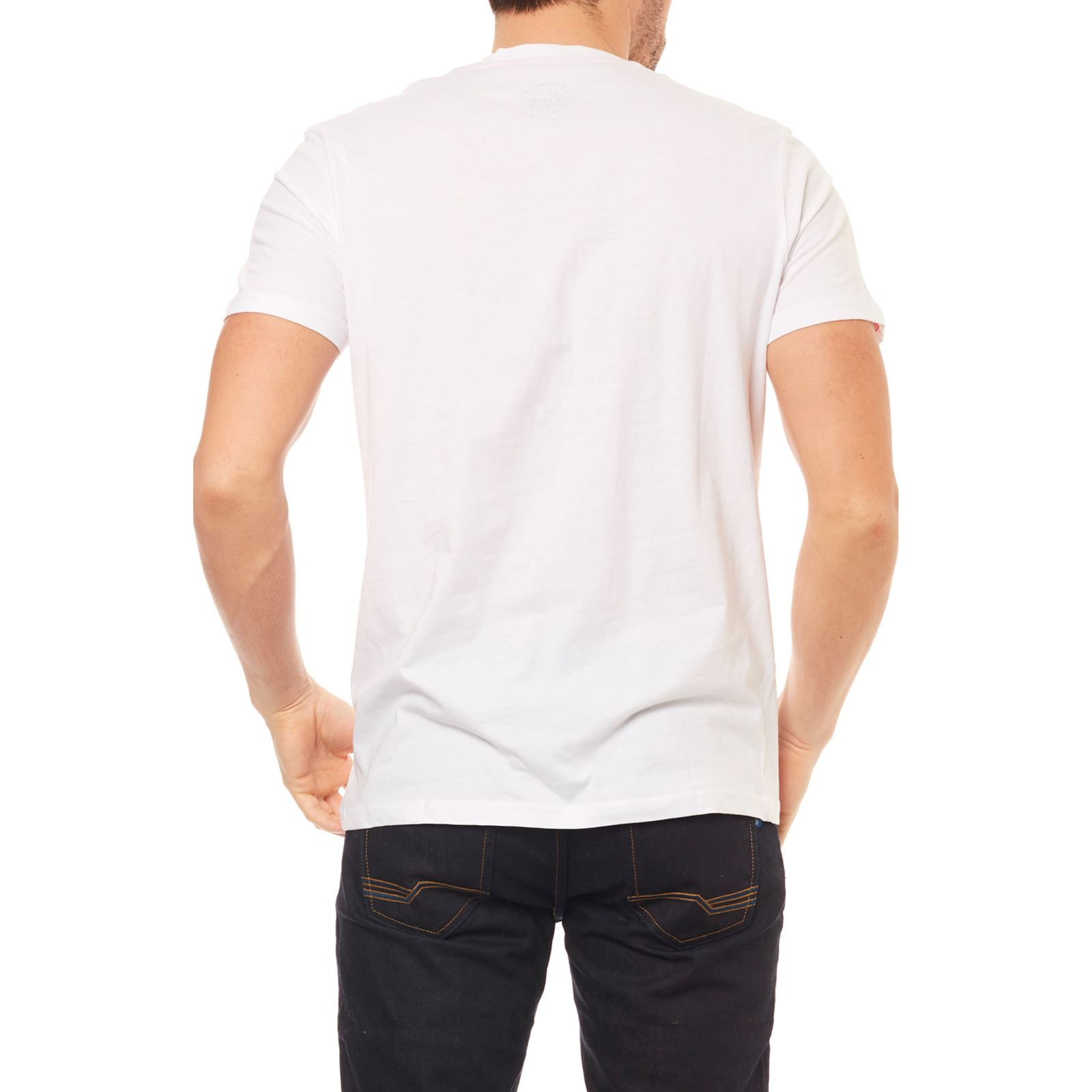 Blanc shirt Jorshakedowns Courtes Manches Jack T amp; Jones IO4xq0R