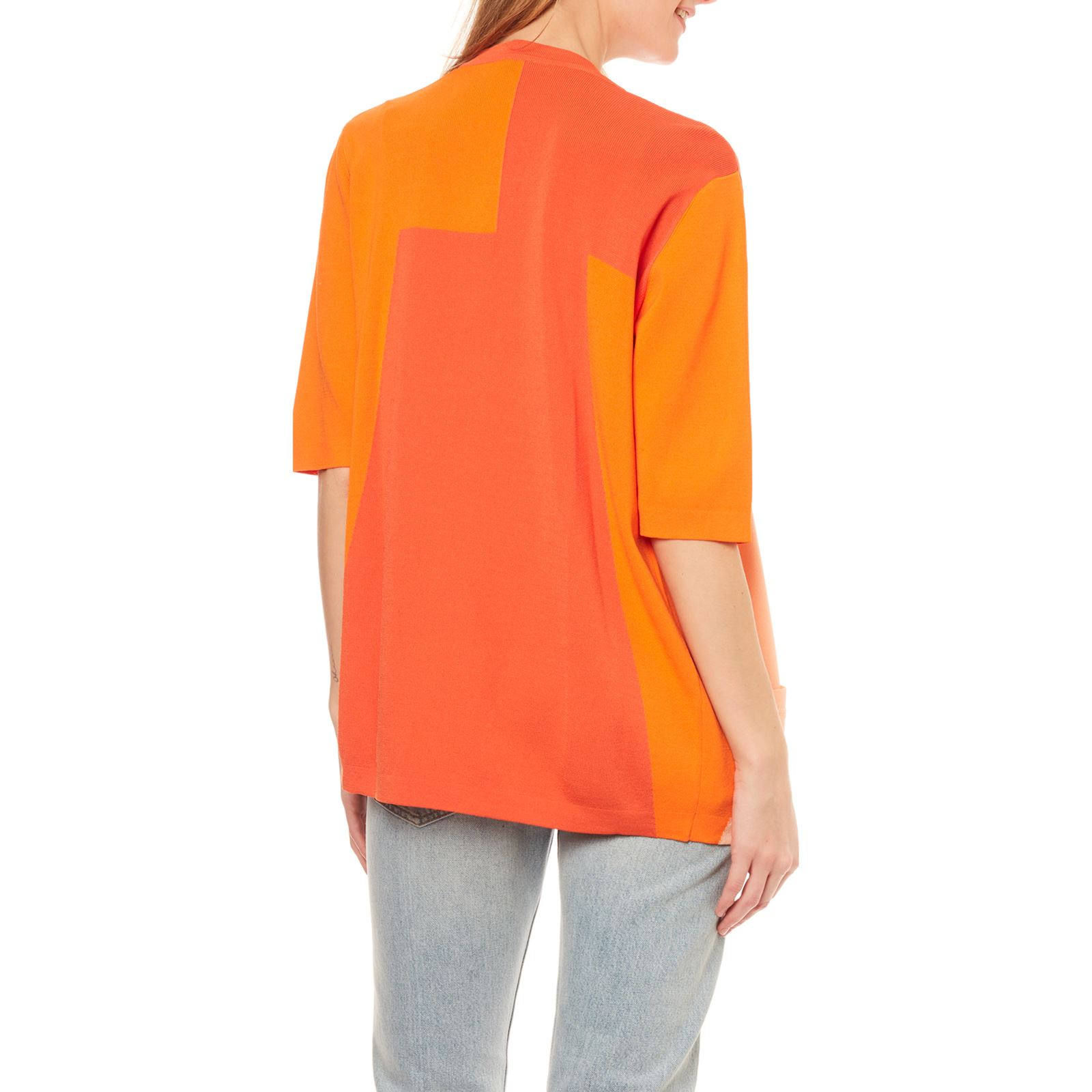 Benetton Benetton Orange Orange Cardigan Cardigan Benetton wgUdHwq