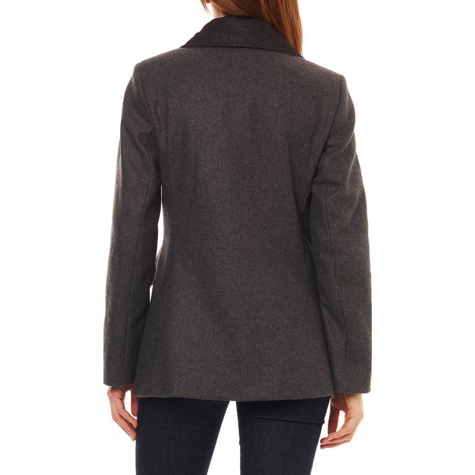 Brandalley Manteau 70 Laine Anthracite Naf Mary OPqxAA
