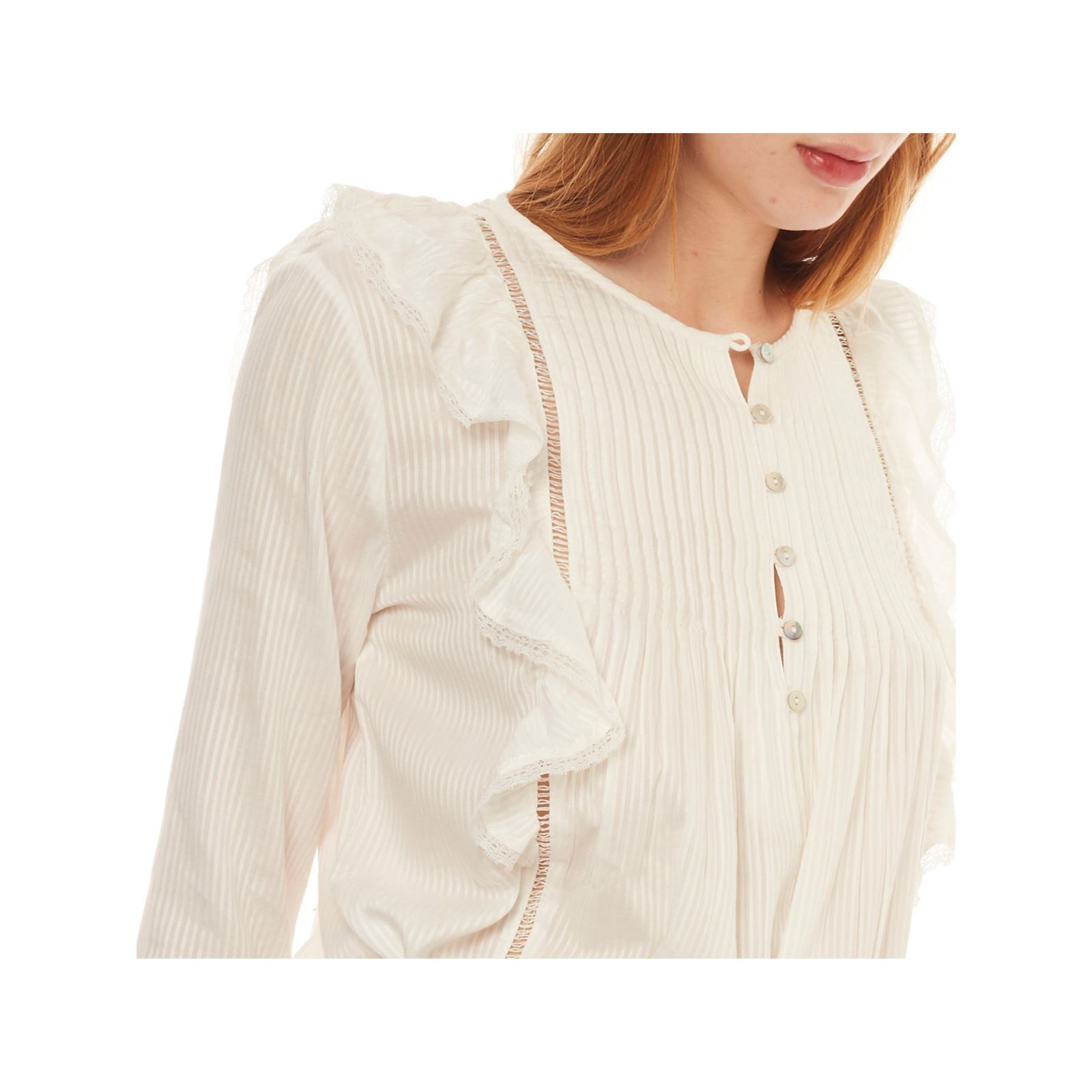 Only Blouse - blanc