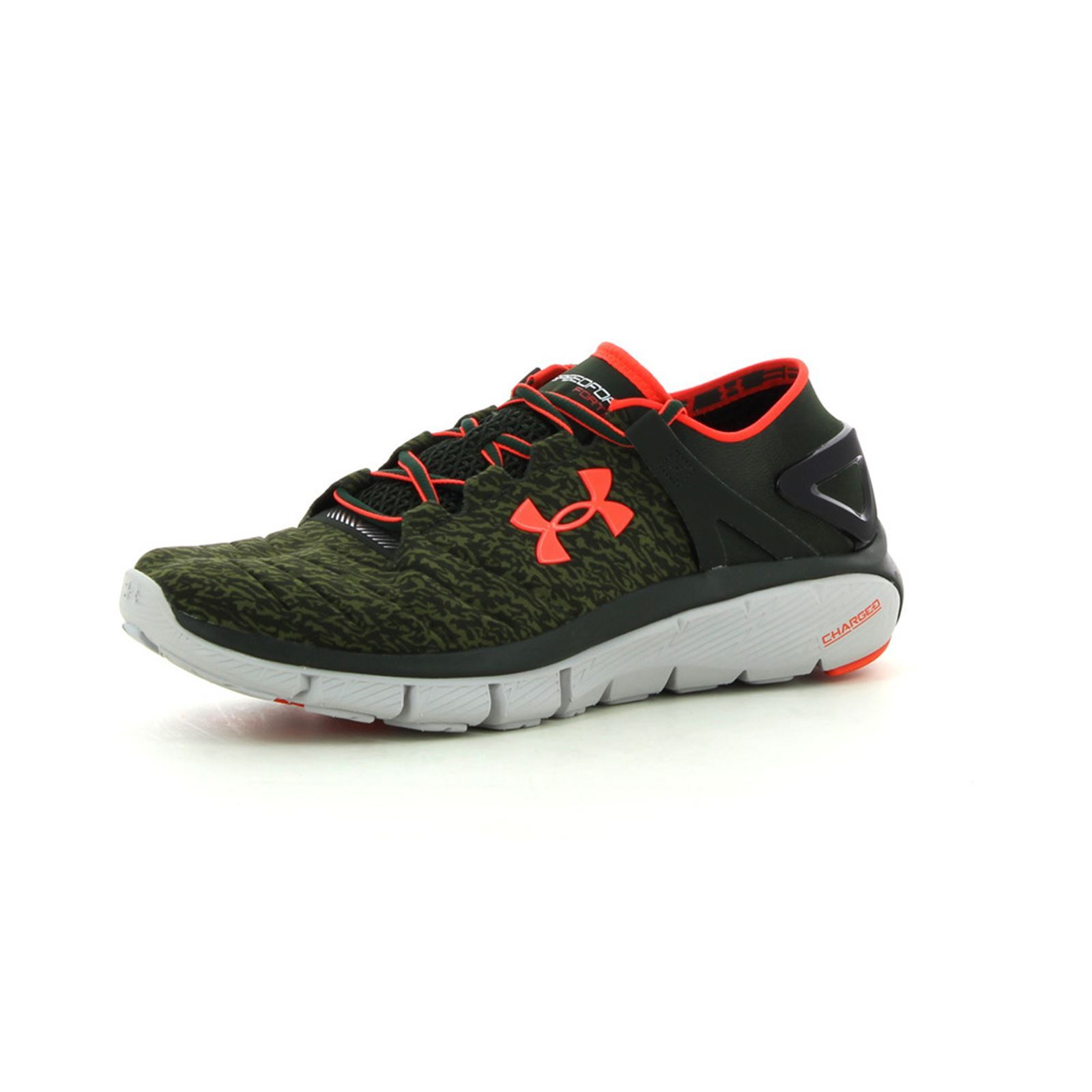 Men's speedform fortis gr Chaussures de running vert