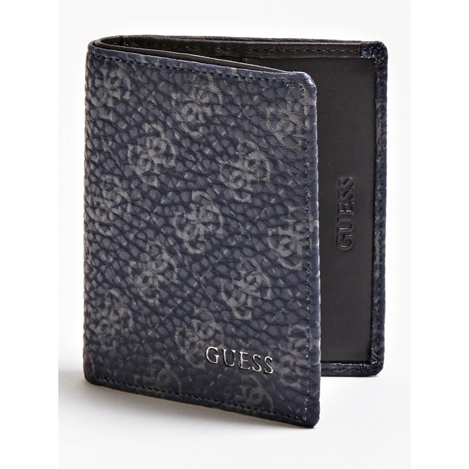 Guess Bleu City Portefeuille Guess City Portefeuille YXawE