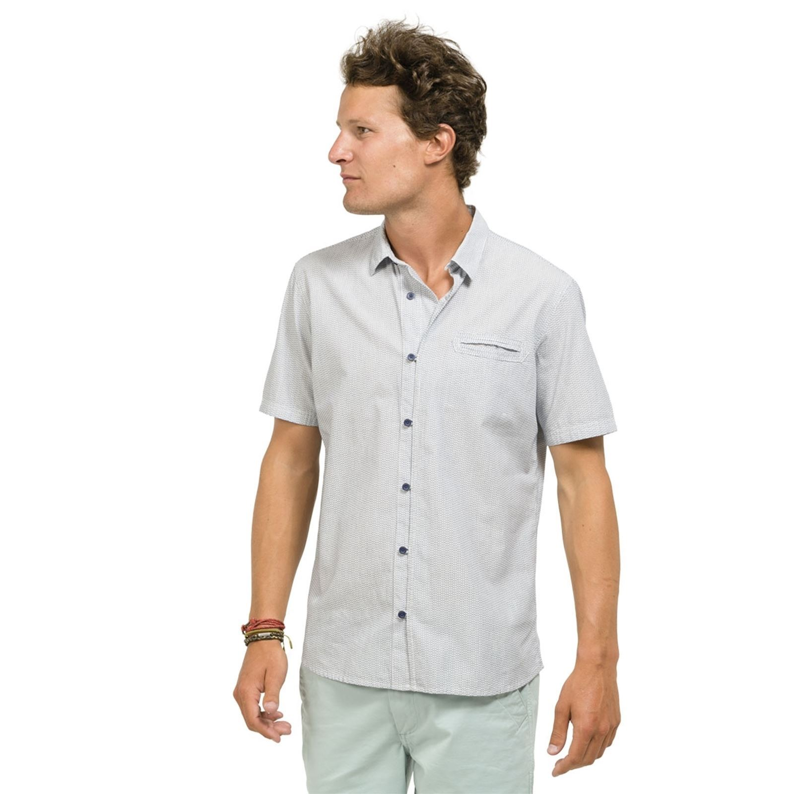 Manches Gris Courtes Ciraya Chemise Oxbow PwTxvqB1B
