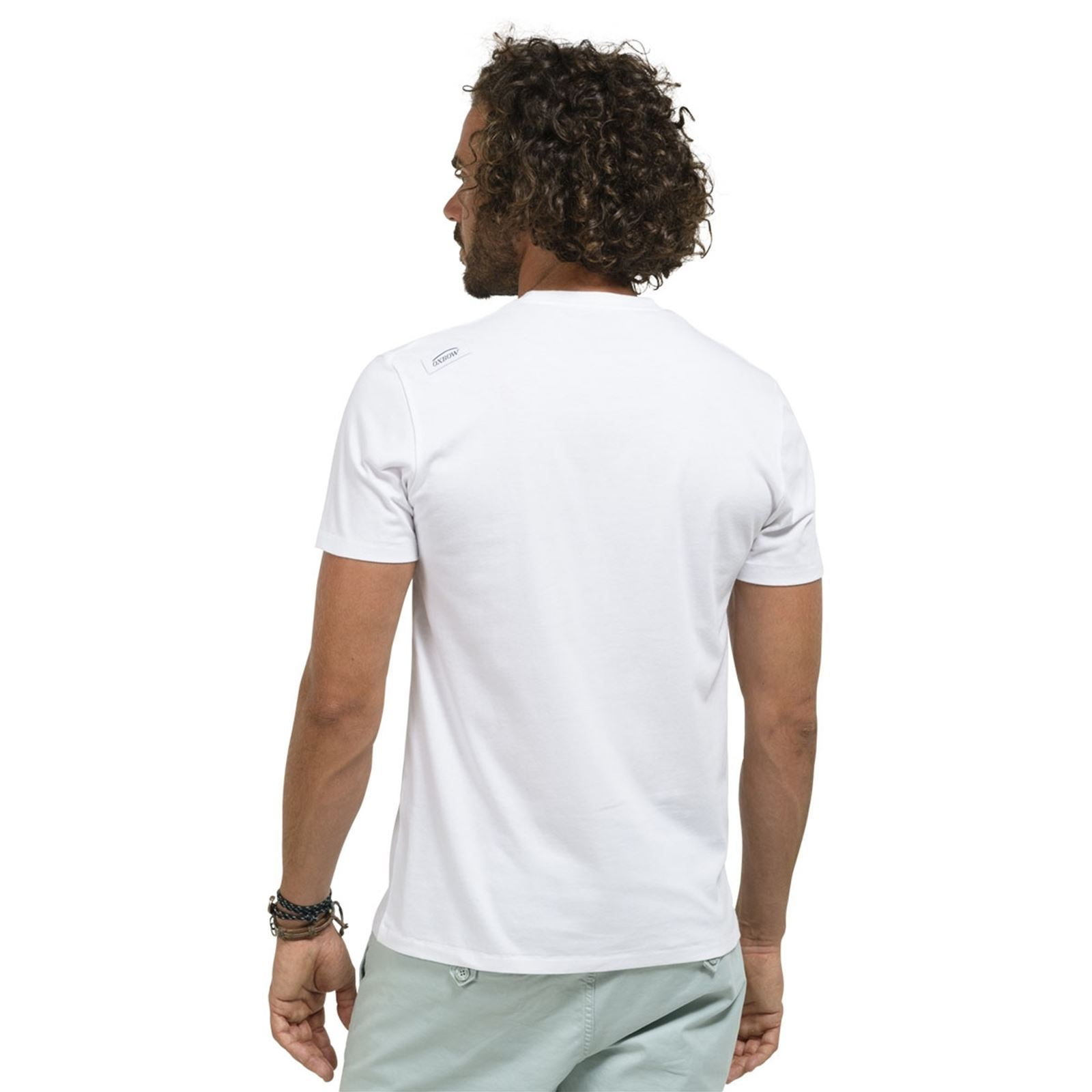 Oxbow Manches shirt T Thane Courtes Blanc HrqHSwB