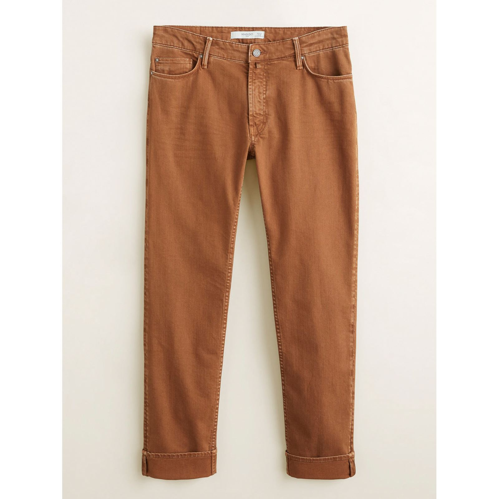 Mango Marron Slim Man Alex Jean qOH6Wq7