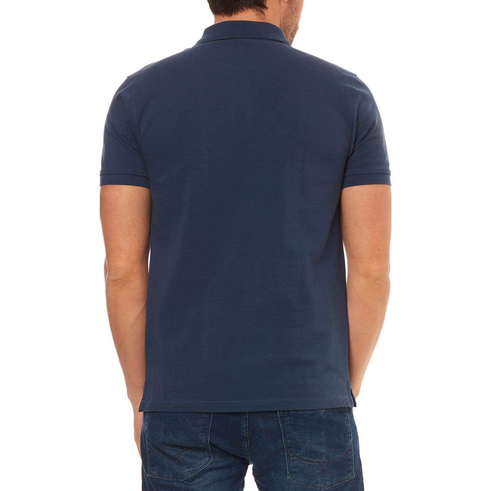 Timberland Timberland Polo Courtes Manches Courtes Manches Timberland Polo Bleu Bleu qxt7C1g